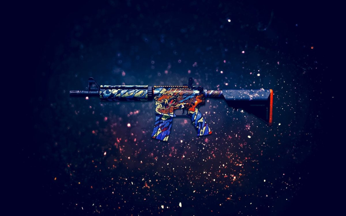 AWP Dragon Lore Sniper Rifle Counter Strike Global Offensive