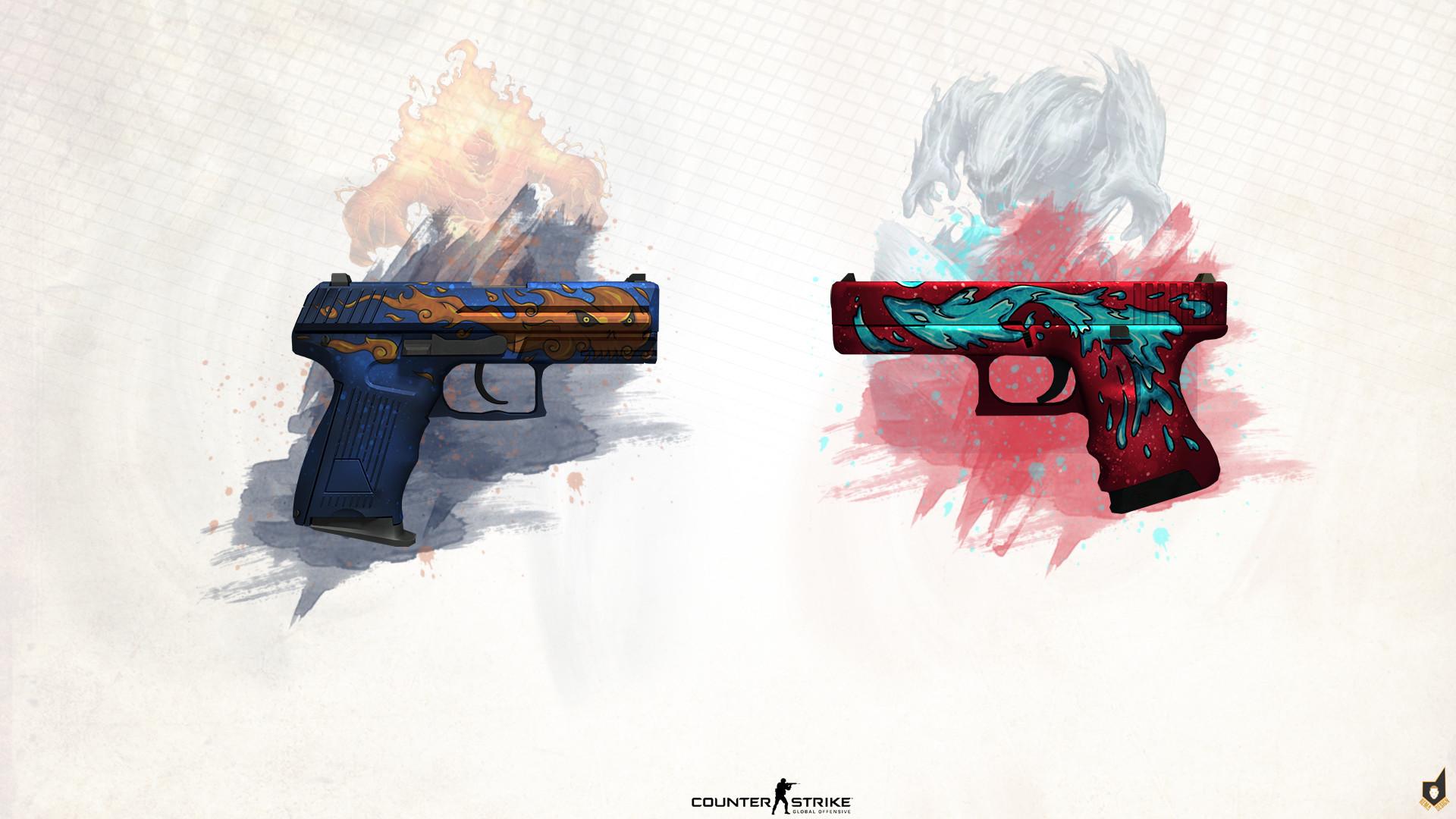 … P2000,Glock Fire VS Water: …