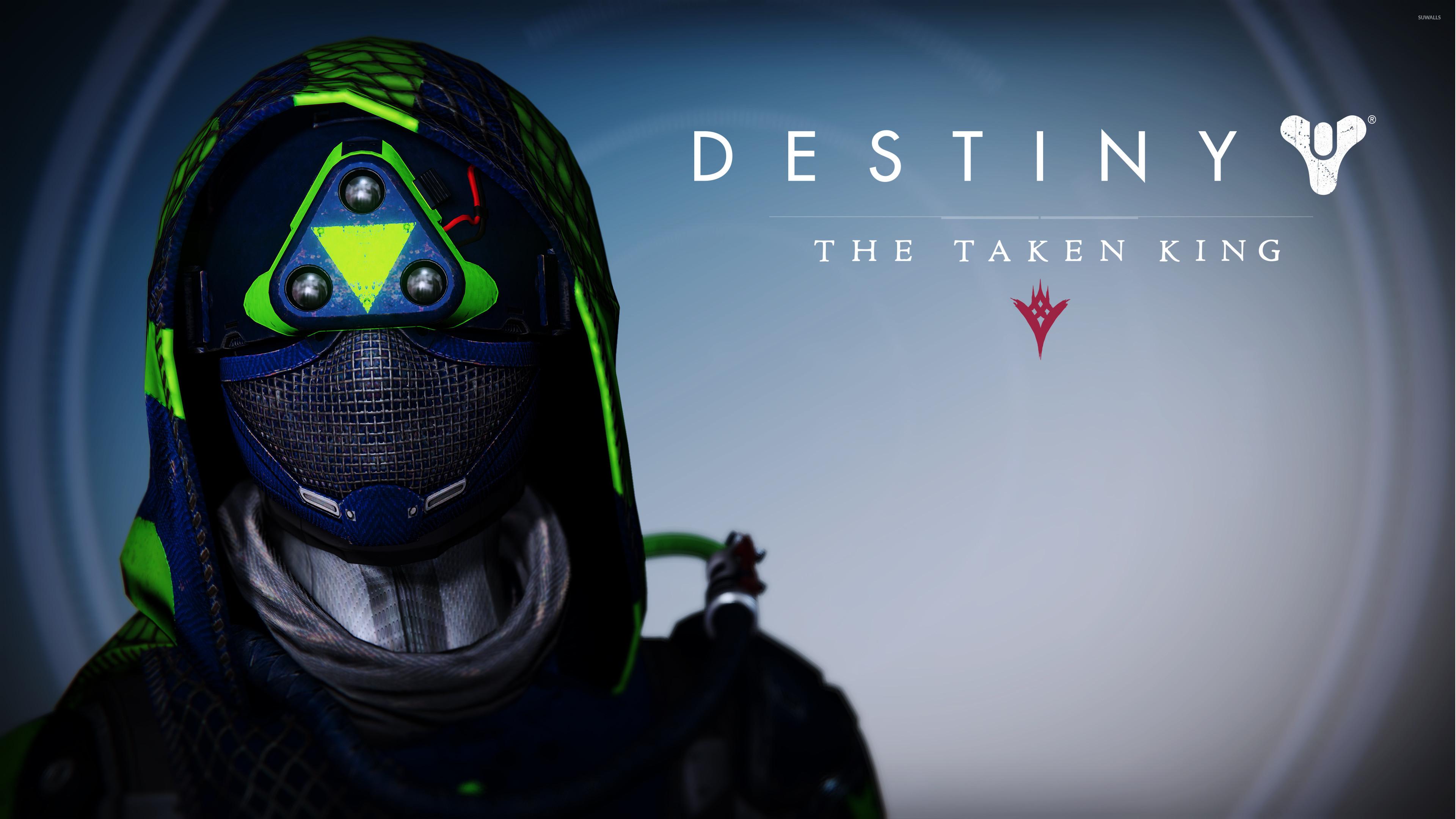 Hunter female helmet – Destiny: The Taken King wallpaper jpg