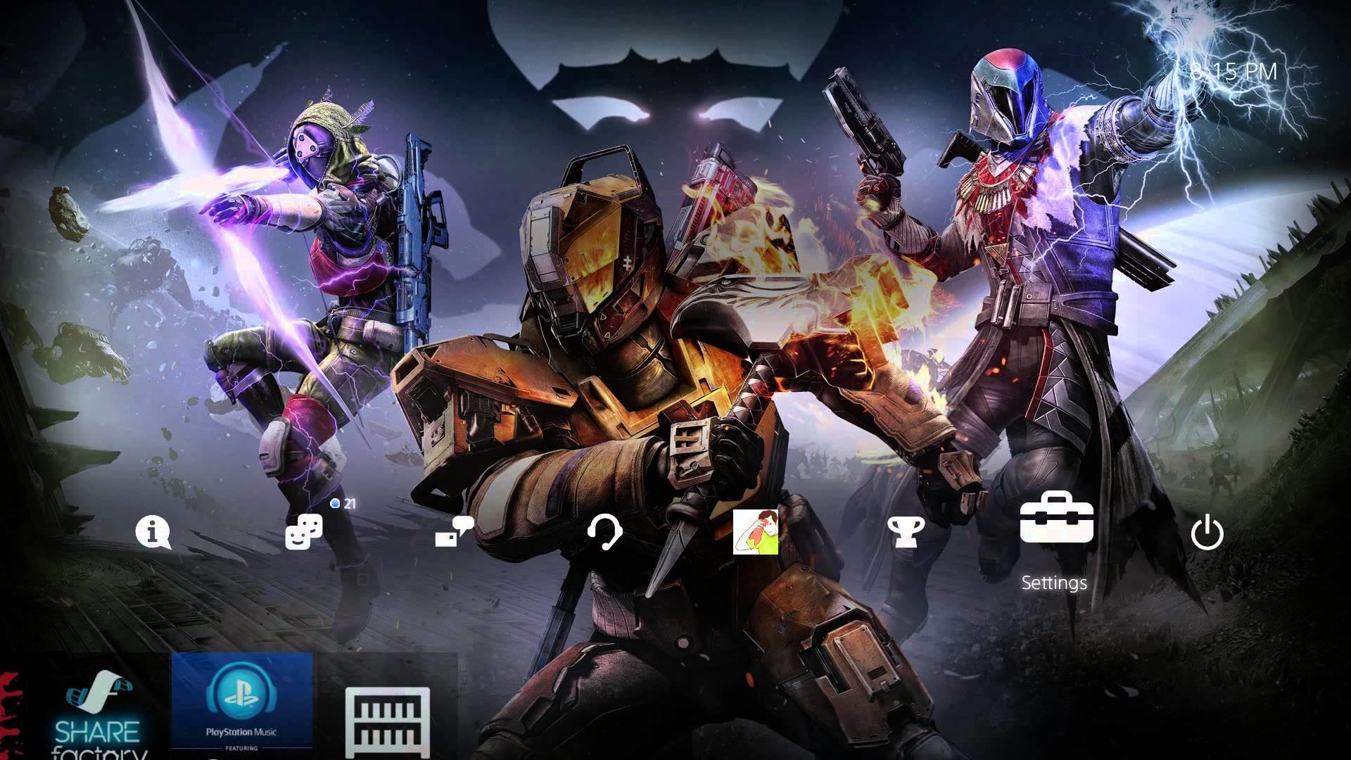 [Pre-Order] Destiny: The Taken King [PS4 Theme] – YouTube