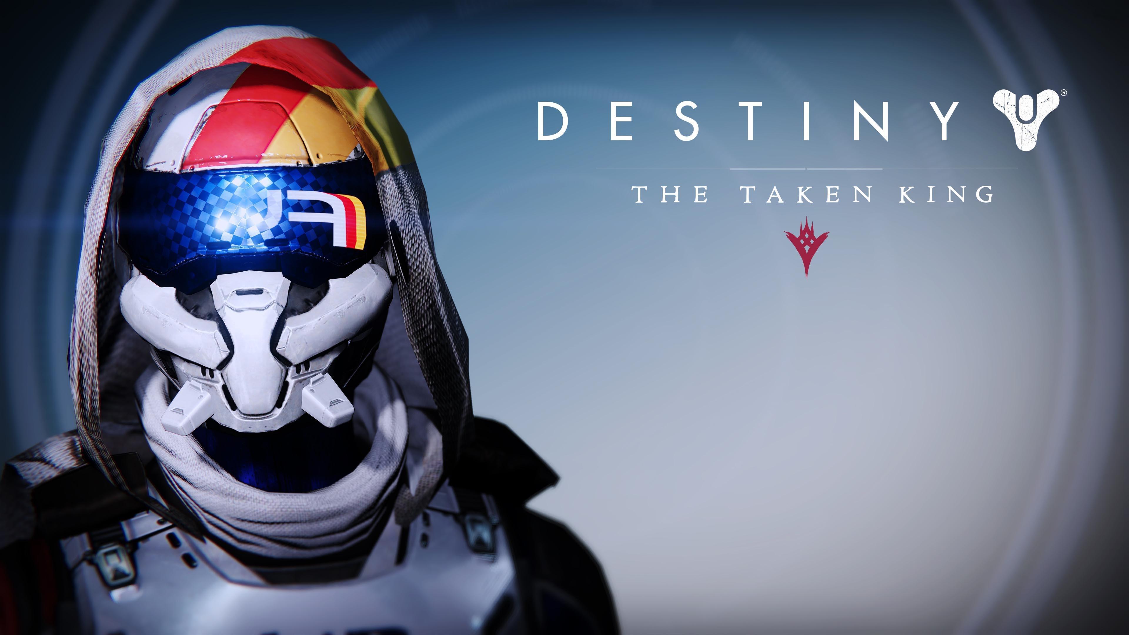 Destiny FWC Hunter Female Helmet – Destiny The Taken King  wallpaper