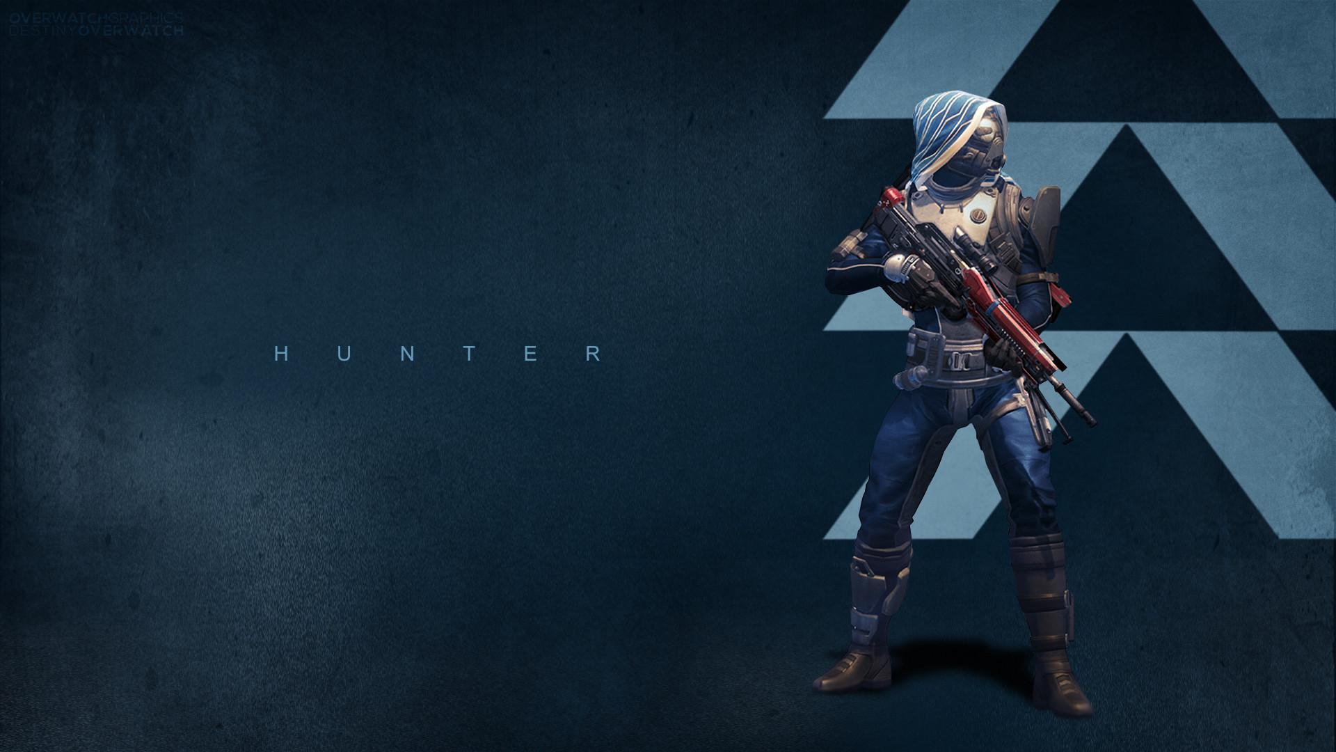DeviantArt: More Like Destiny – Hunter Wallpaper by OverwatchGraphics