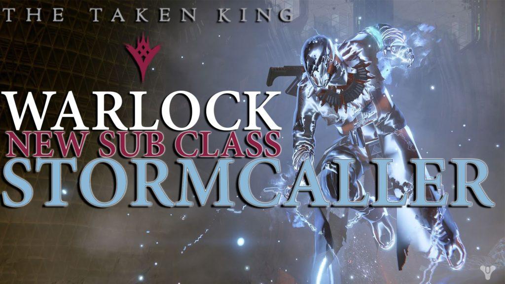 "*NEW* Destiny: The Taken King – Warlock ""Stormcaller"" Gameplay (Mayhem  Clash)"