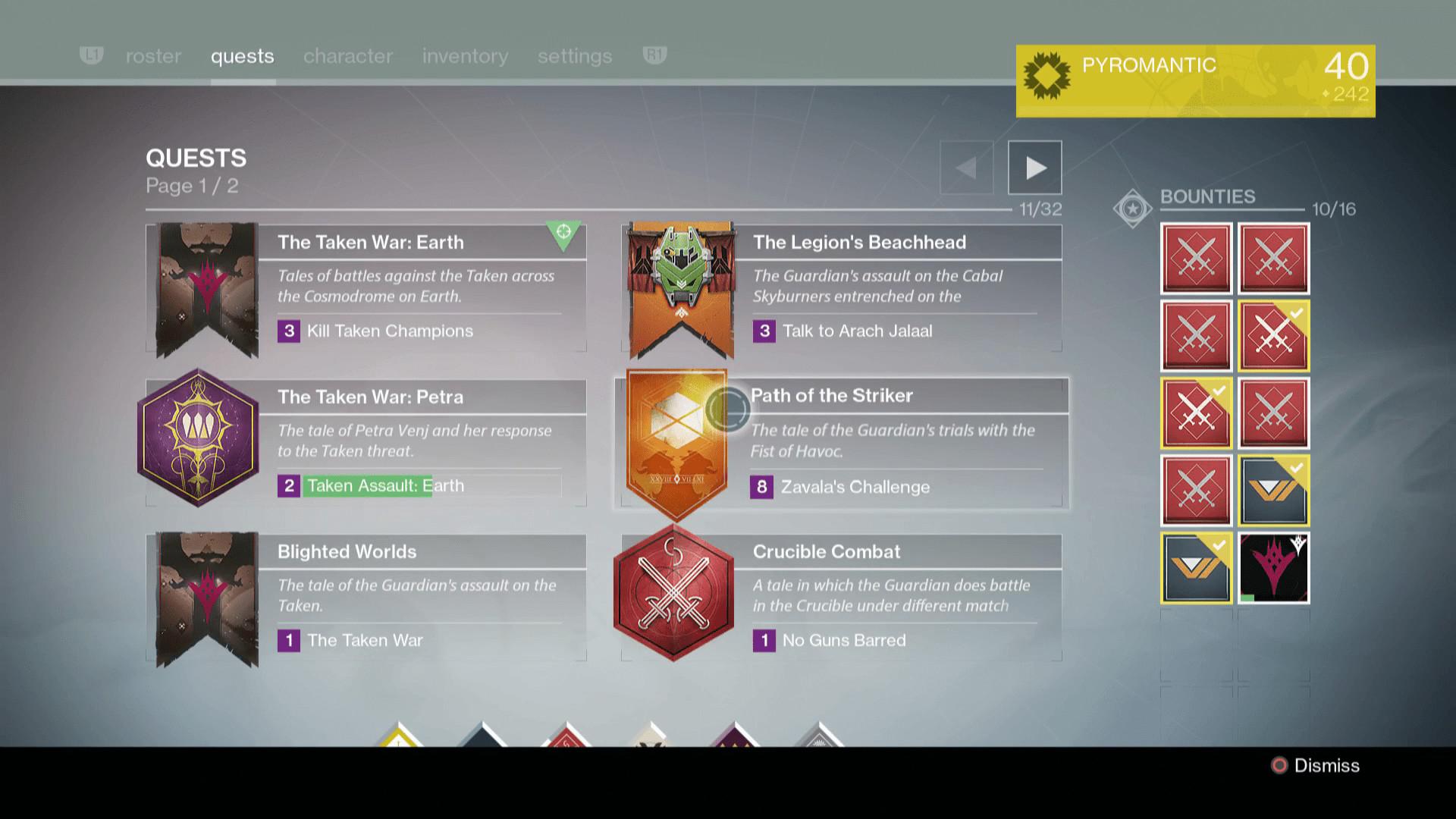 Destiny The Taken King Screenshot Wallpaper Mission Screen
