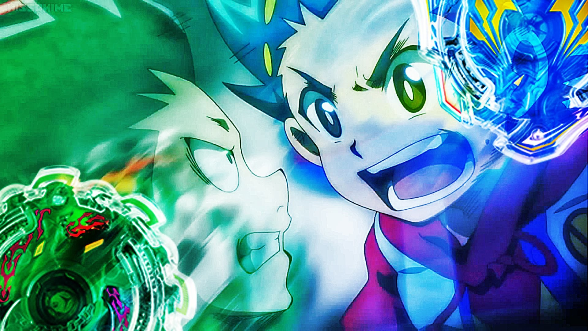Valkyrie Wing Accel VS Kerbeus Central Defence – BEYBLADE BURST – YouTube