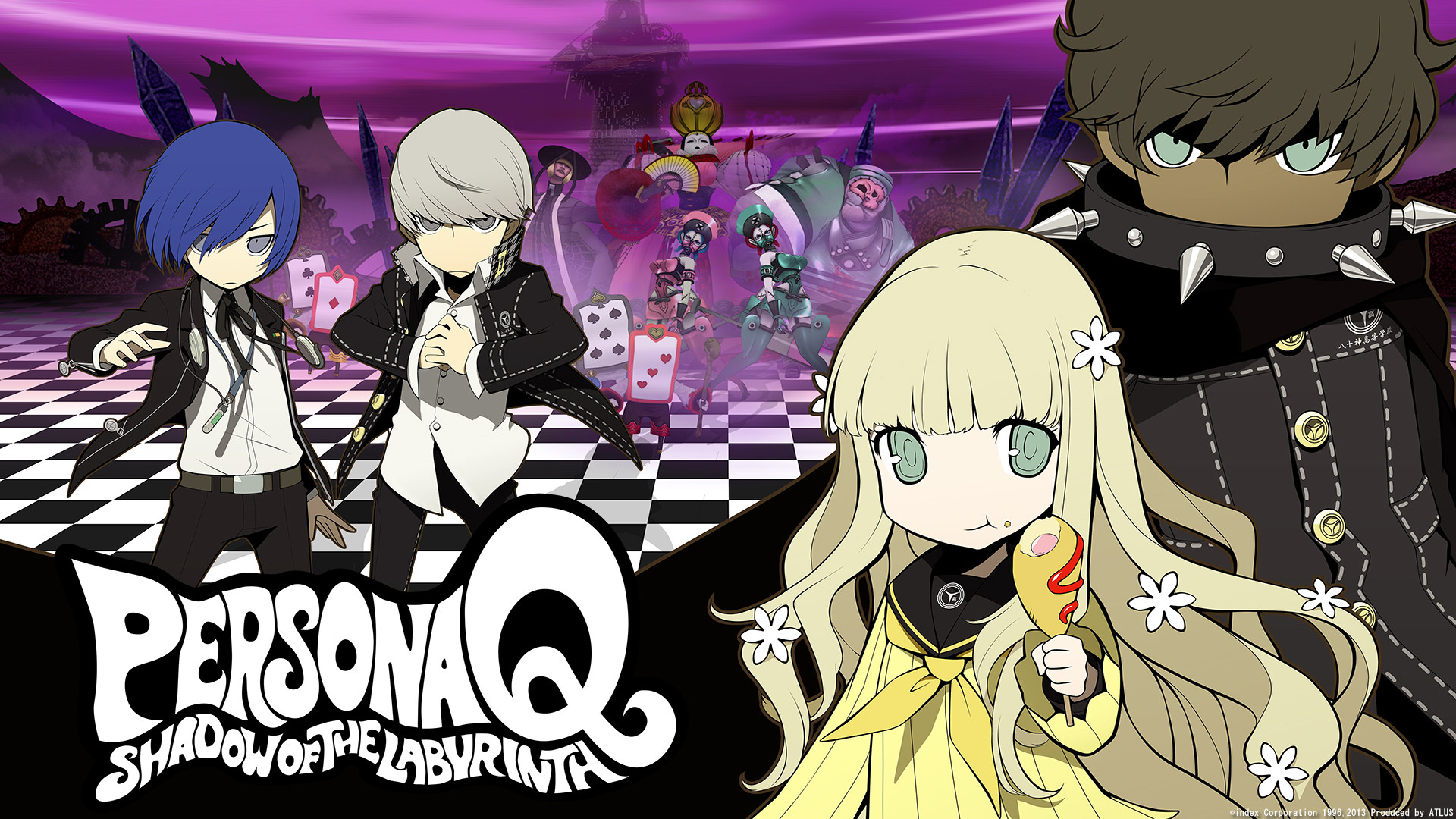 View Fullsize Persona Q: Shadow Of The Labyrinth Image