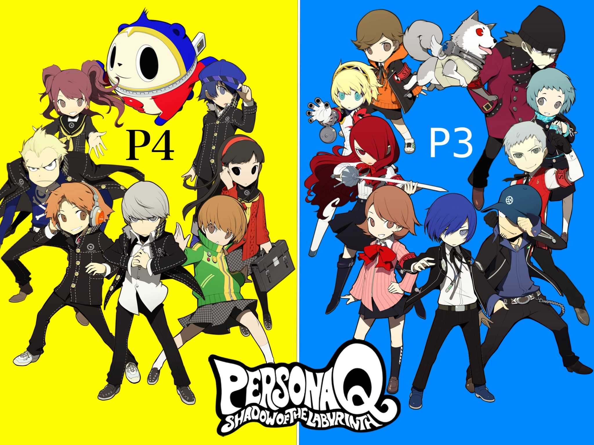 Persona Q Wallpaper by AxlStyler Persona Q Wallpaper by AxlStyler