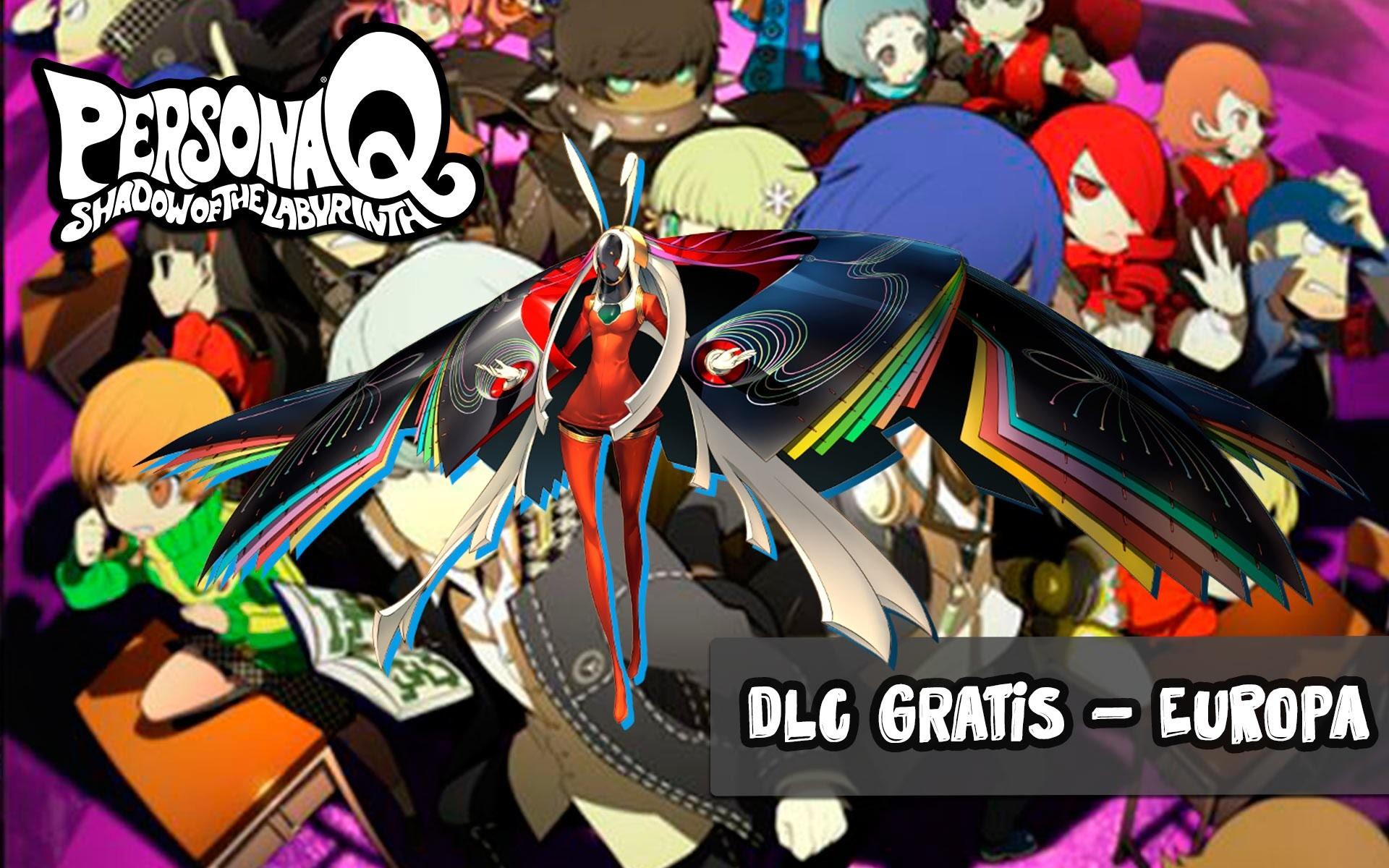 DLC Gratis: Kaguya – Persona Q: Shadow of the Labyrinth