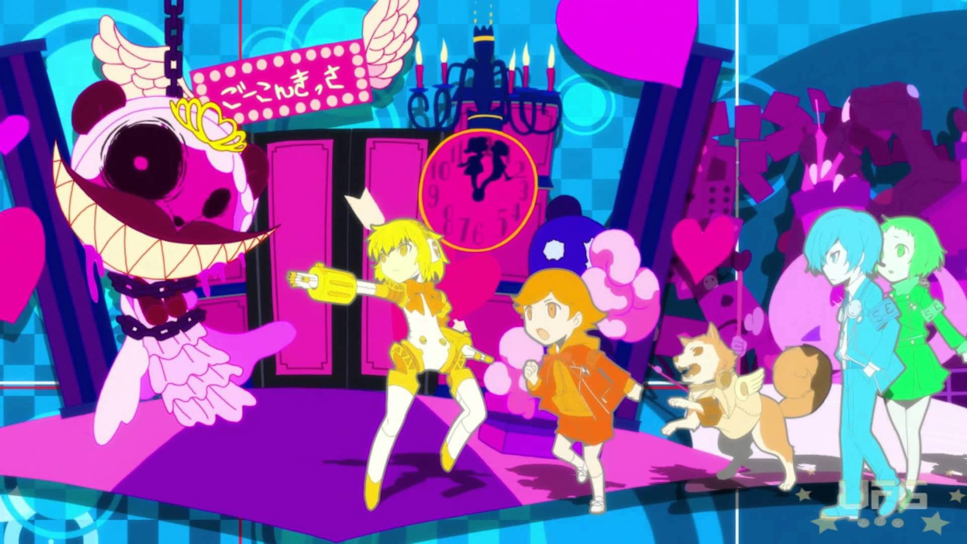Persona Q: Shadow of The Labyrinth Opening Movie!