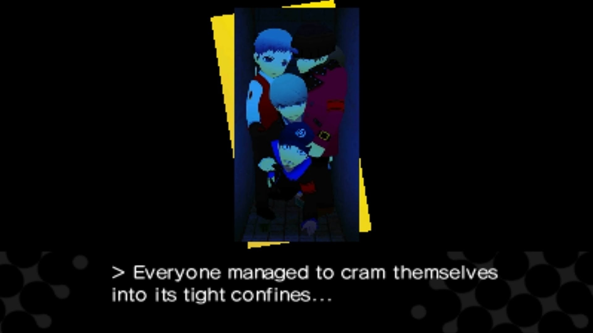 [3DS] Persona Q: Shadow of the Labyrinth [Persona 4] – Bathroom Scene  (Choosing Junpei's Closet)