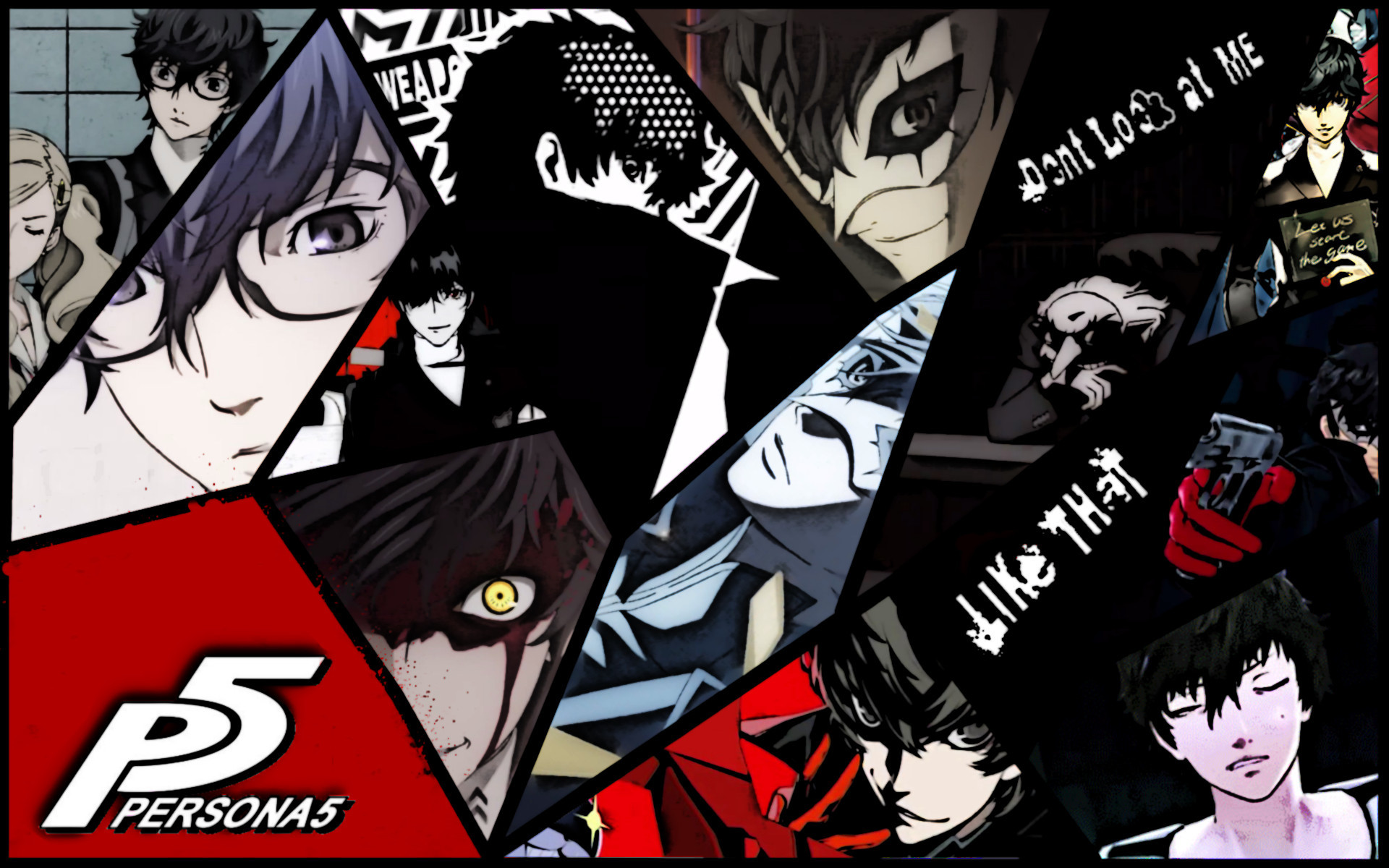 Persona 5 Wallpapers (34 Wallpapers)
