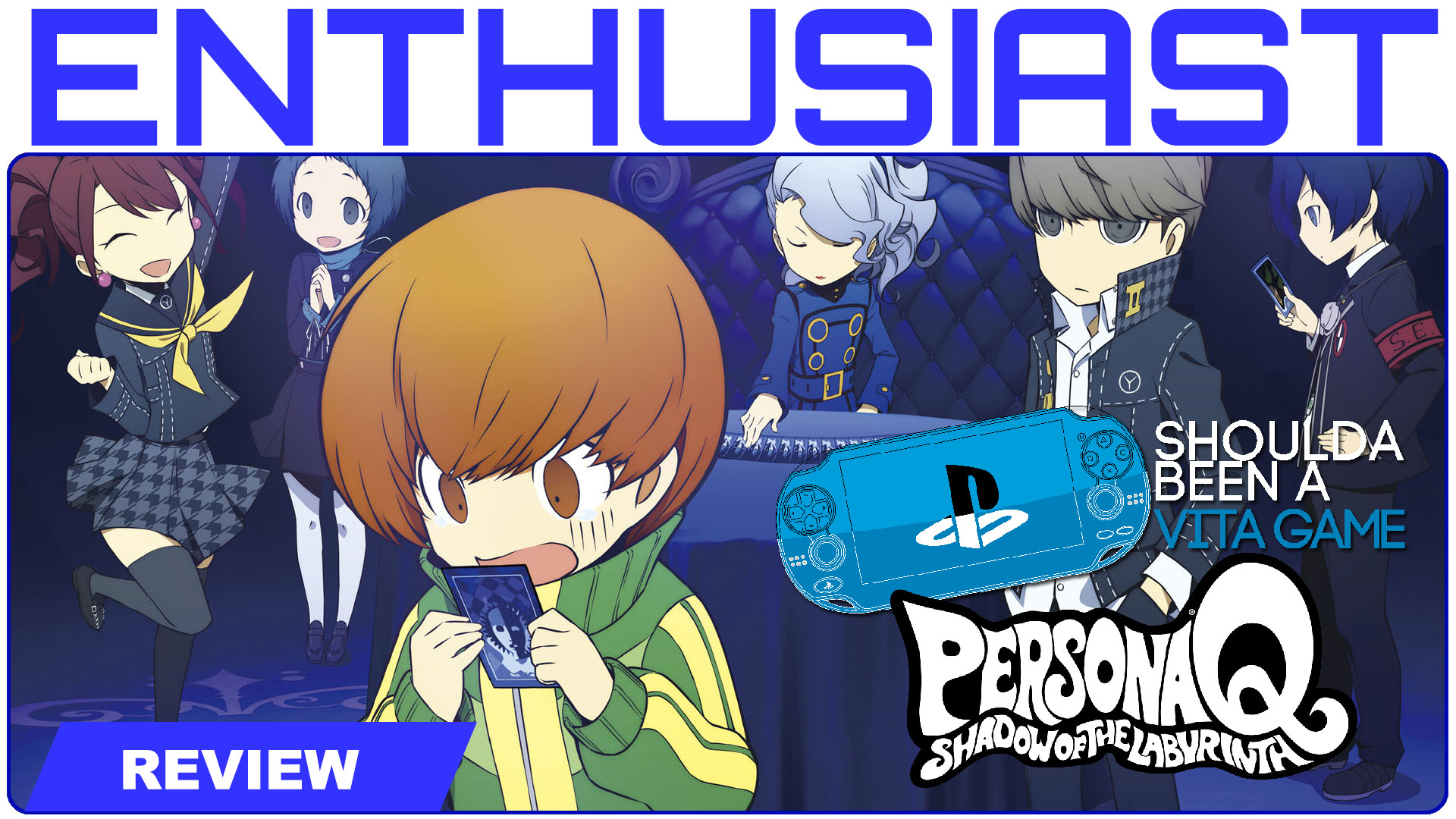 Check out our mini series about the PS Vita! We think ALOT of games should  have come to the handheld. This episode we talk about Persona Q: Shadow of  the …