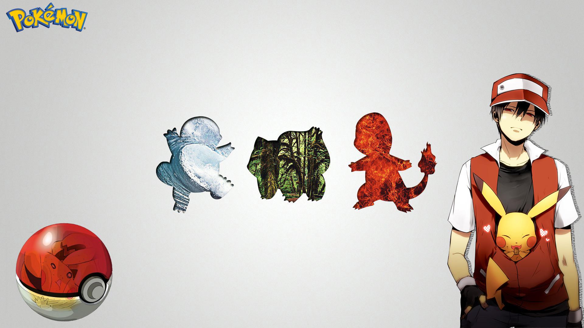 Anime РPok̩mon Ash (Pok̩mon) Pikachu Pokeball Squirtle (Pok̩mon)  Charmander (Pok̩mon