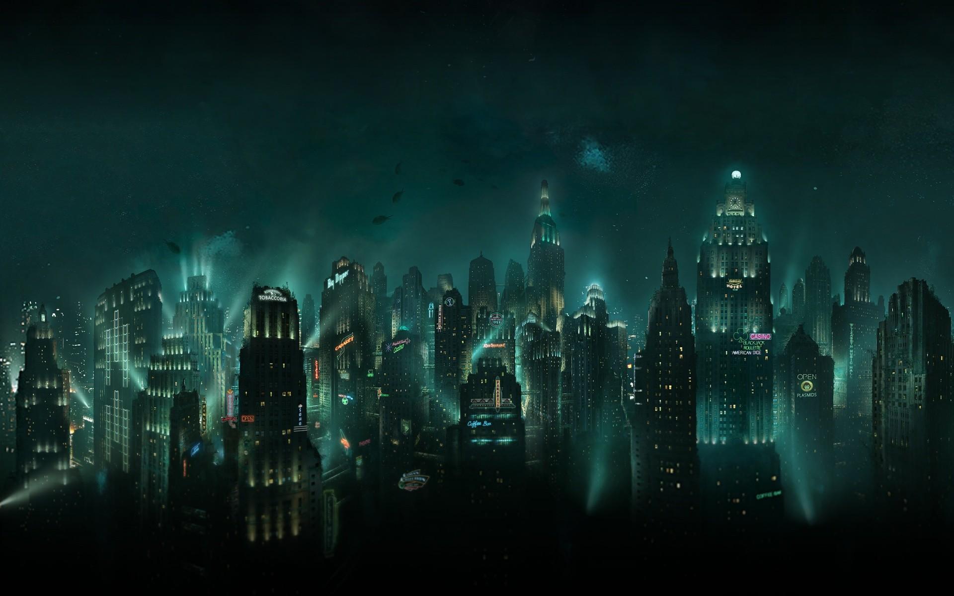 Bioshock Rapture HD Desktop Wallpaper