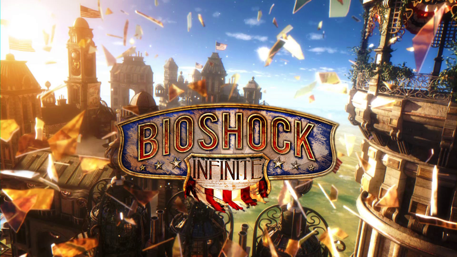 BioShock Infinite, Colombia, Artwork, Video Games, Clouds, City 1600×1200  Bioshock The Collection Wallpapers (41 Wallpapers) | Adorable Wallpapers …