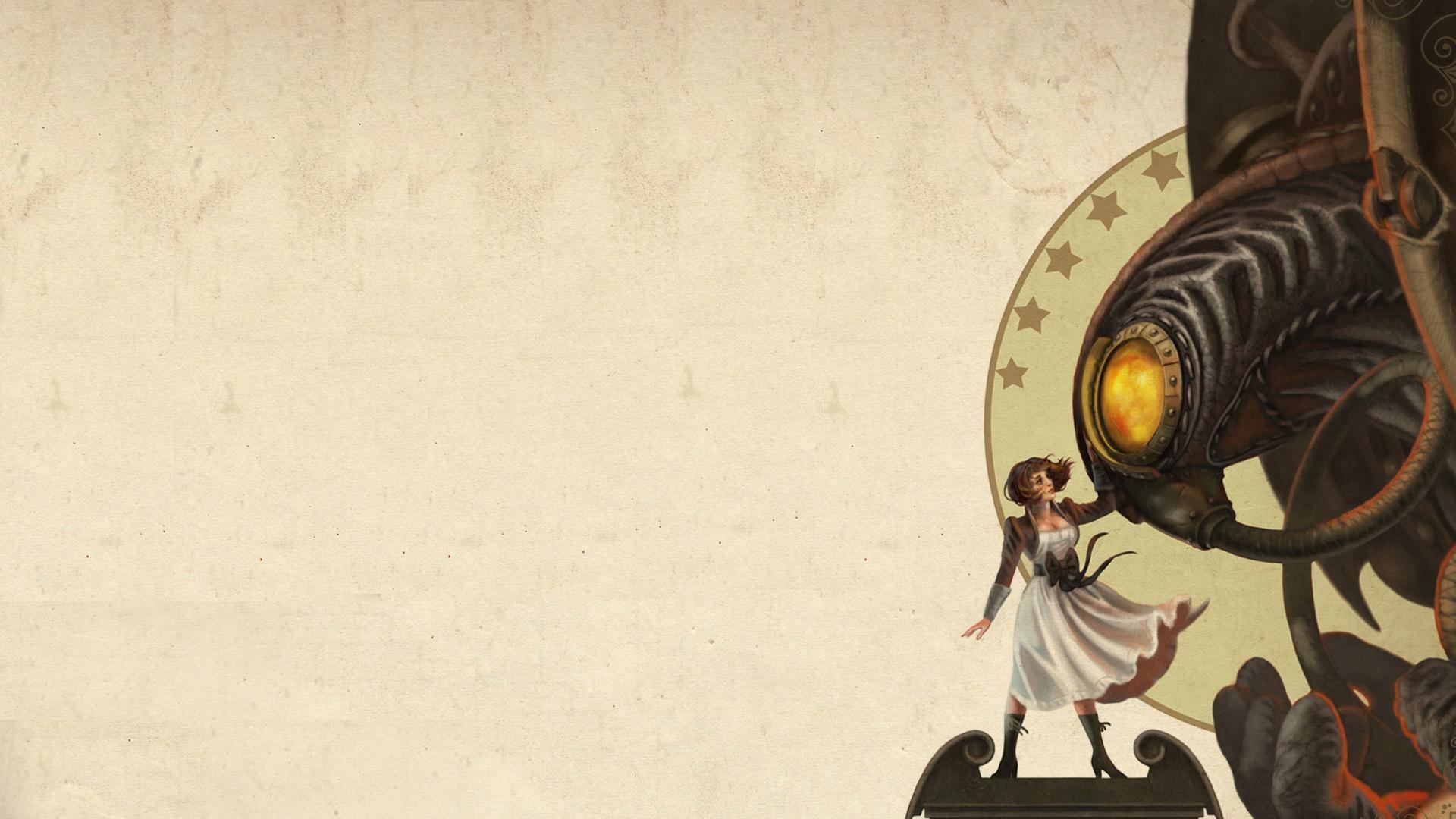 Bioshock Infinite Wallpaper (Minus the logo) …