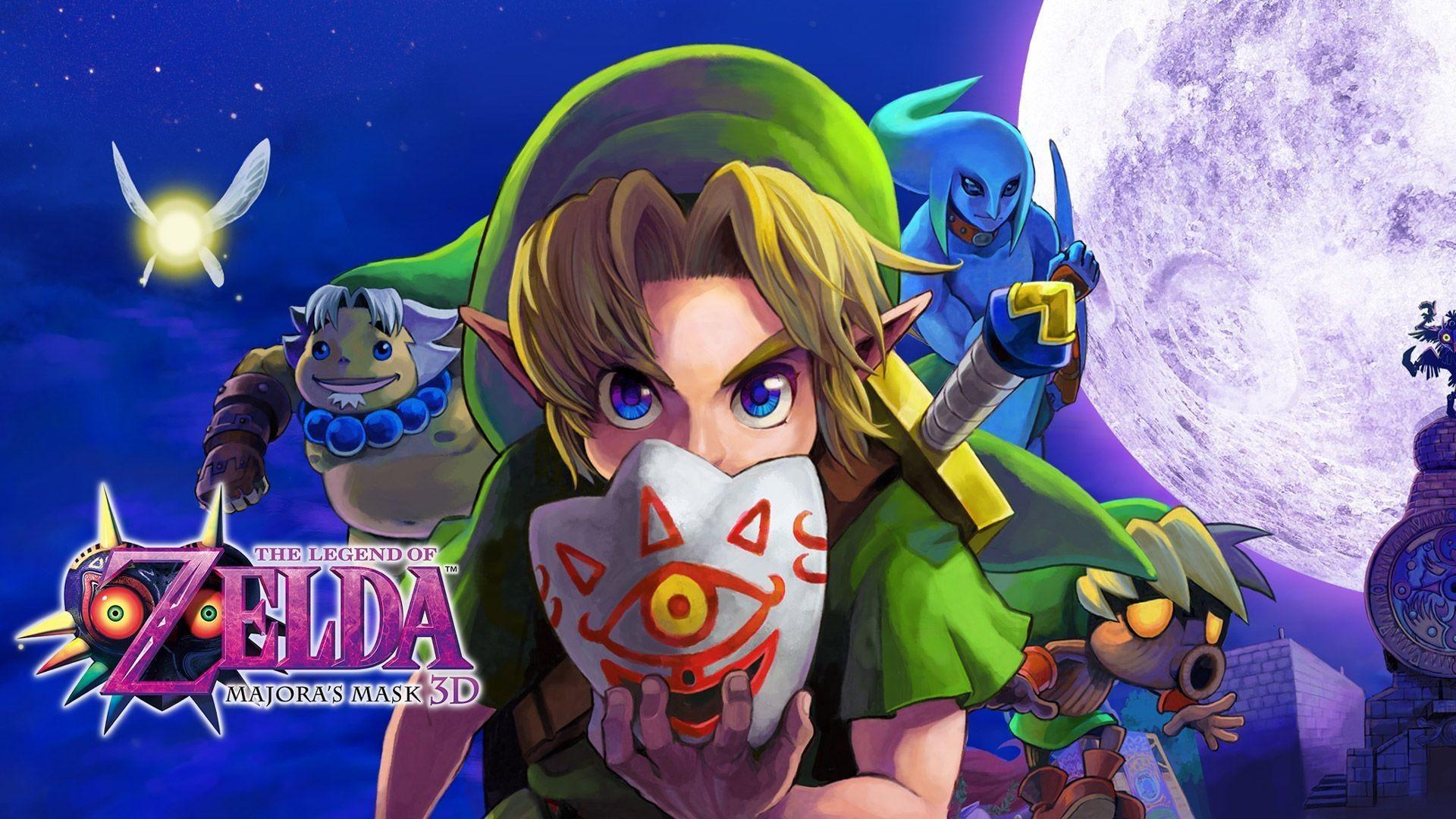 The Legend of Zelda Majoras Mask wallpaper 1080p hd desktop 1920X1080