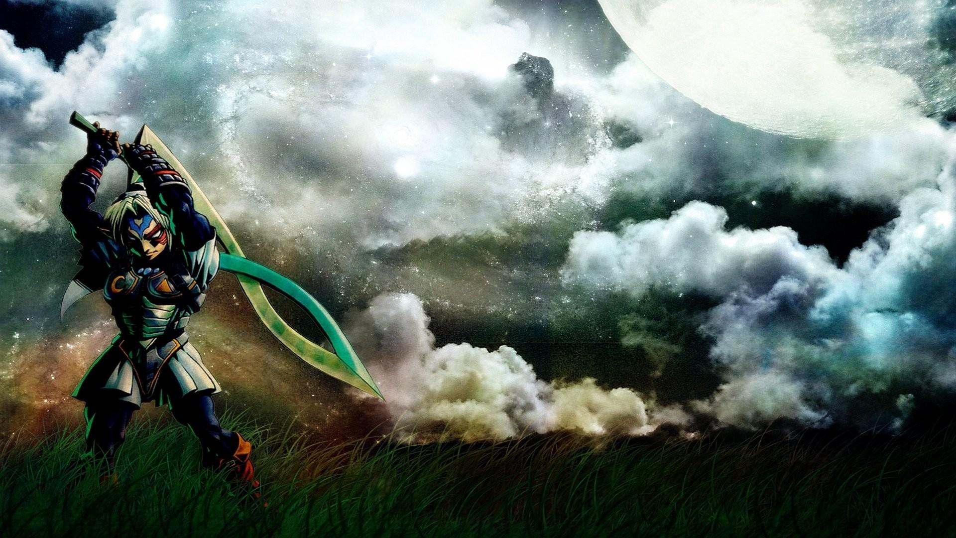 Video Game – The Legend Of Zelda: Majora's Mask Fierce Deity Link Link  Wallpaper