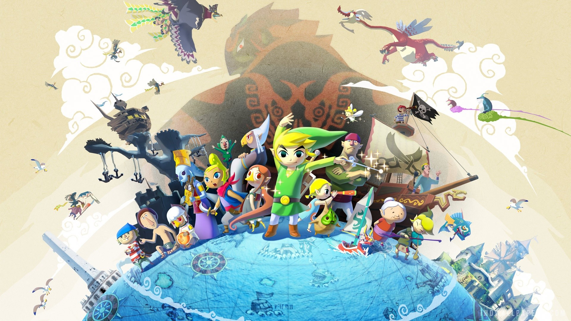 Legend Of Zelda Wallpaper 1080p