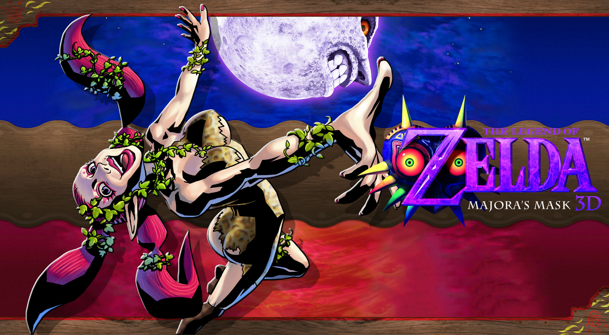 … Majora's Mask 3D Wallpaper – Great Fairy by DaKidGaming