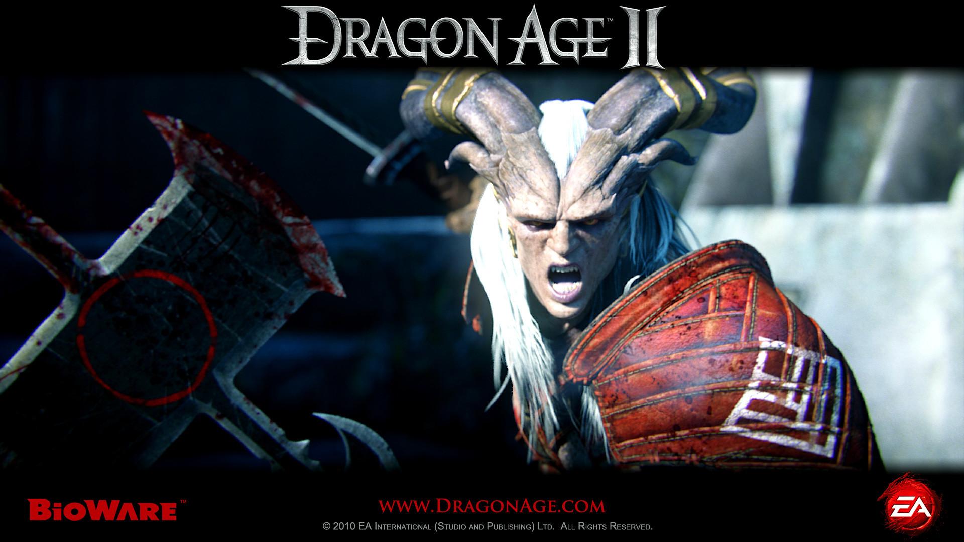 dragon age 2 kunari wallpaper