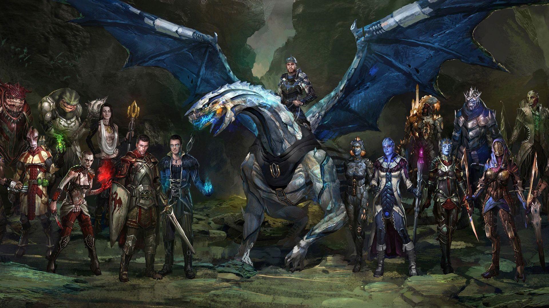 Mass Effect and Dragon Age HD Wallpaper Mass …