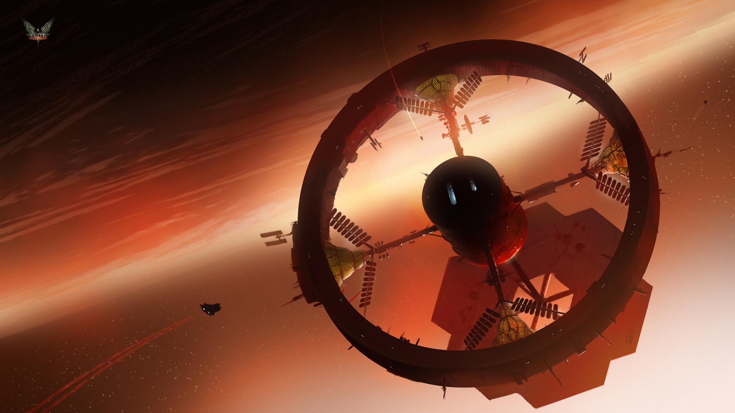 Elite Dangerous: Hydroponic Space Station
