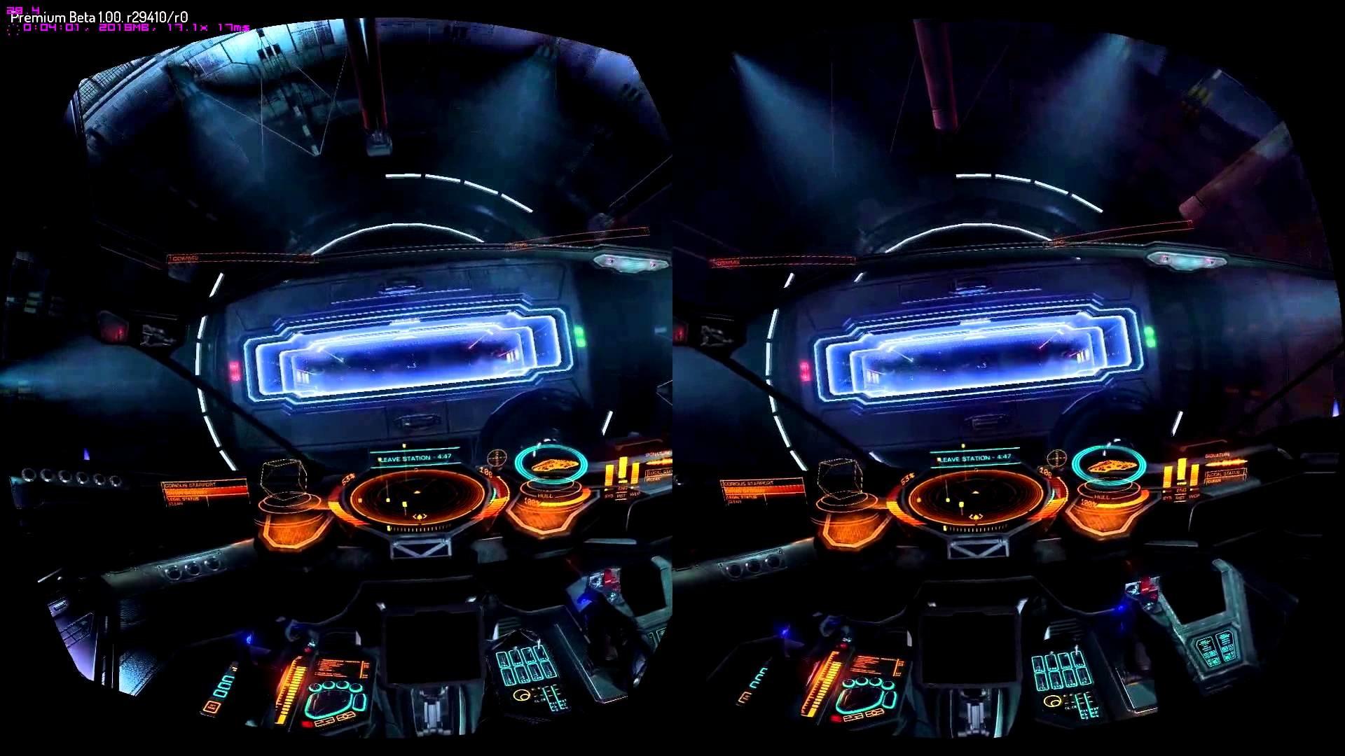 Elite Dangerous: FPS (Frame Rate) Test – Oculus Rift – 1080p GTX 780