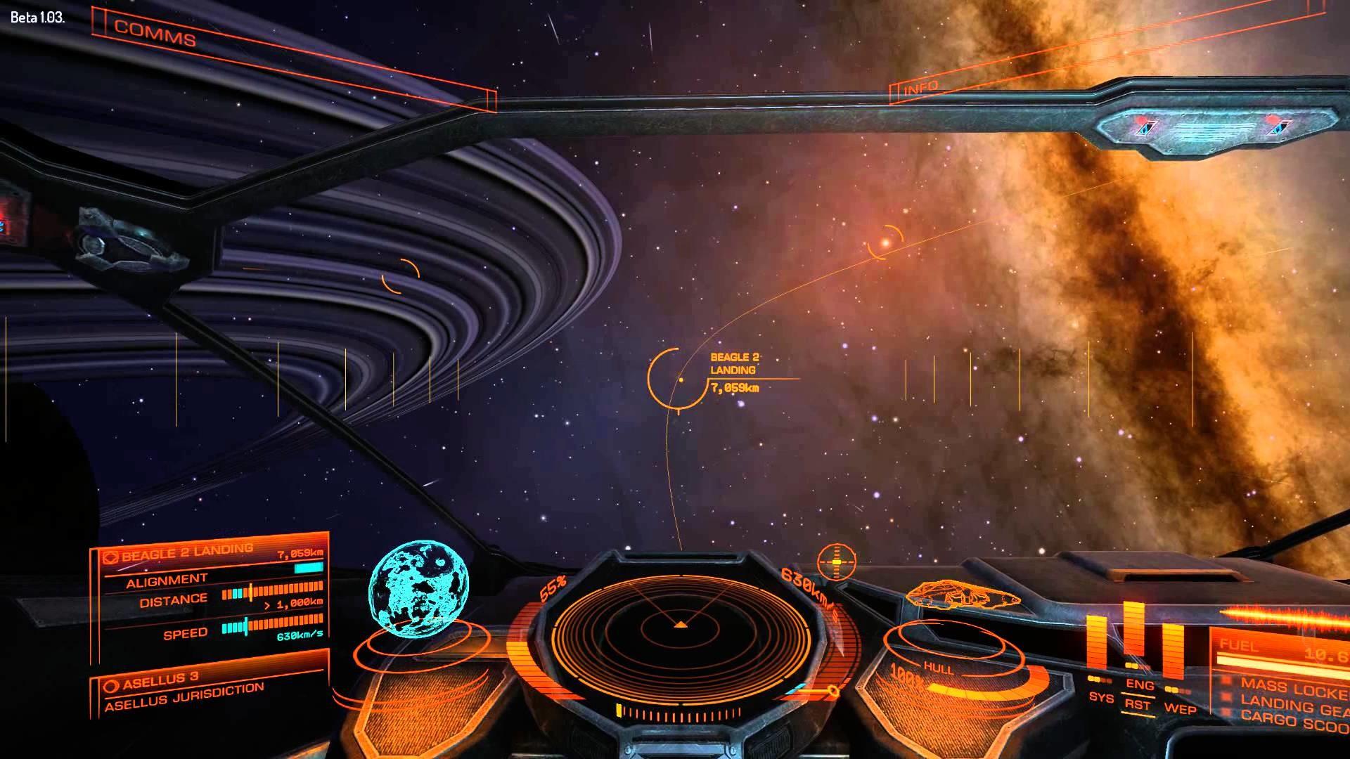 Elite: Dangerous Beta 1.03 – Cargo Run In Cobra Mk.3 (PC) 1080P HD