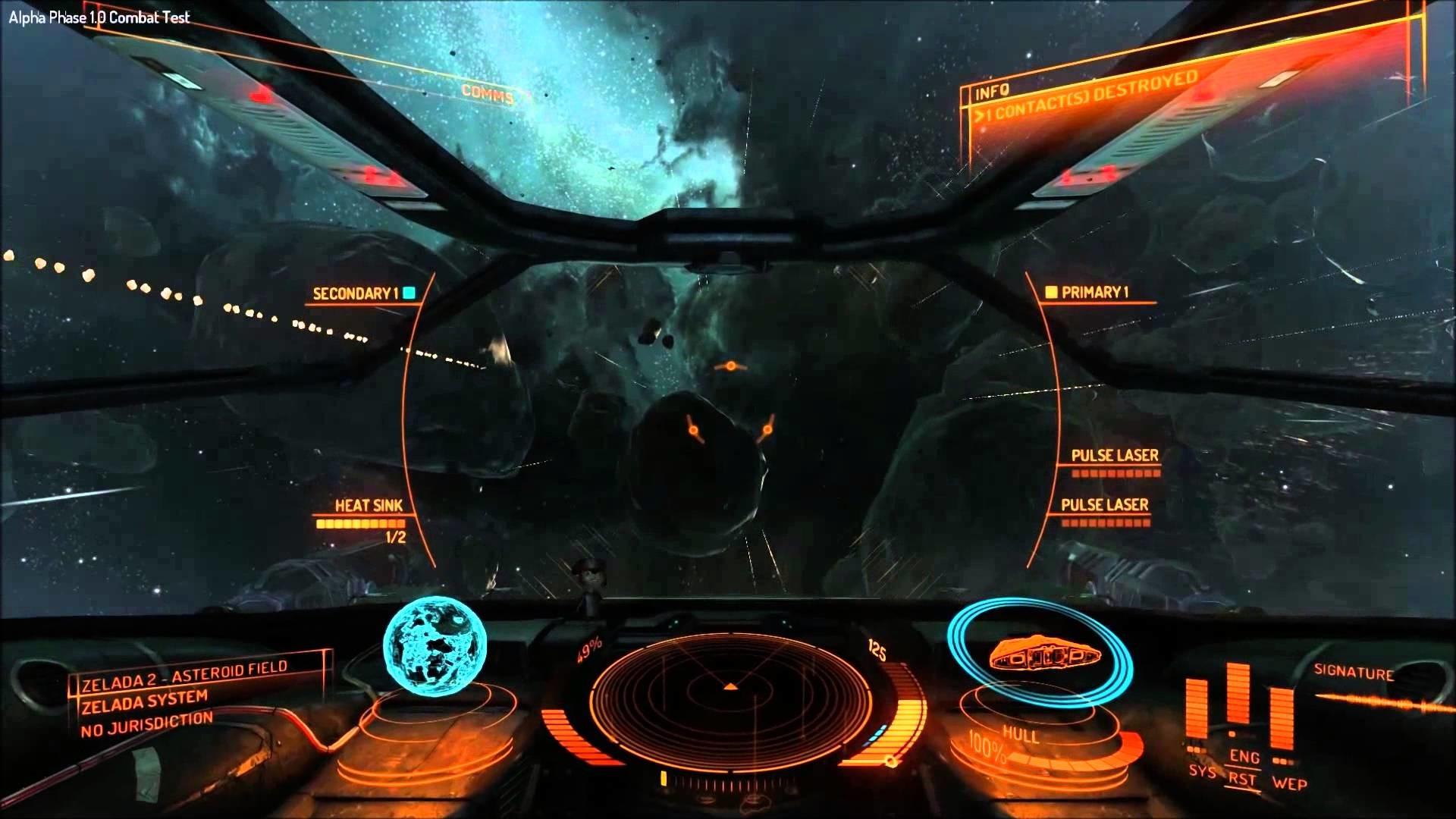 Elite: Dangerous Alpha Gameplay Part 2.