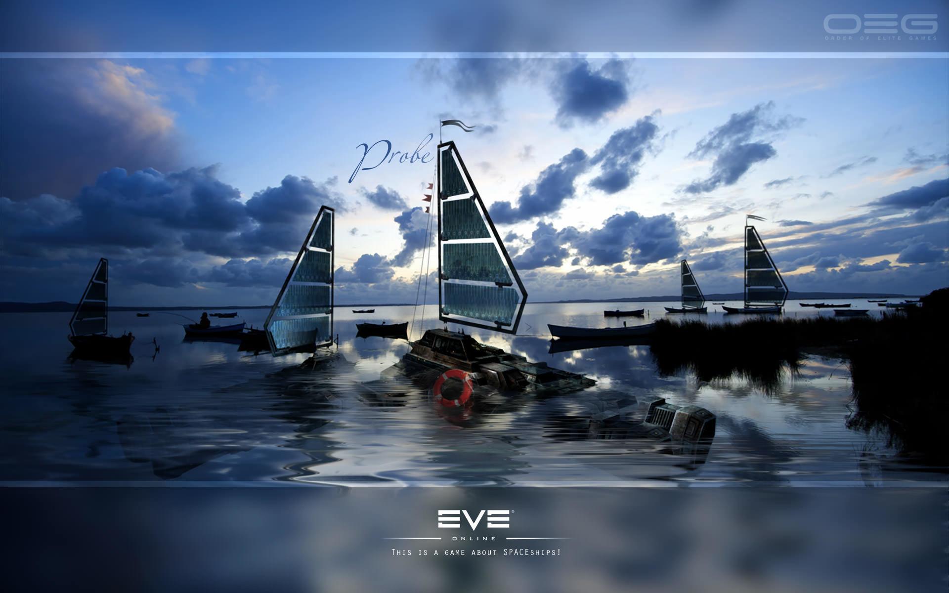 EVE Online HD Wallpaper 1920×1080 · EVE Online HD