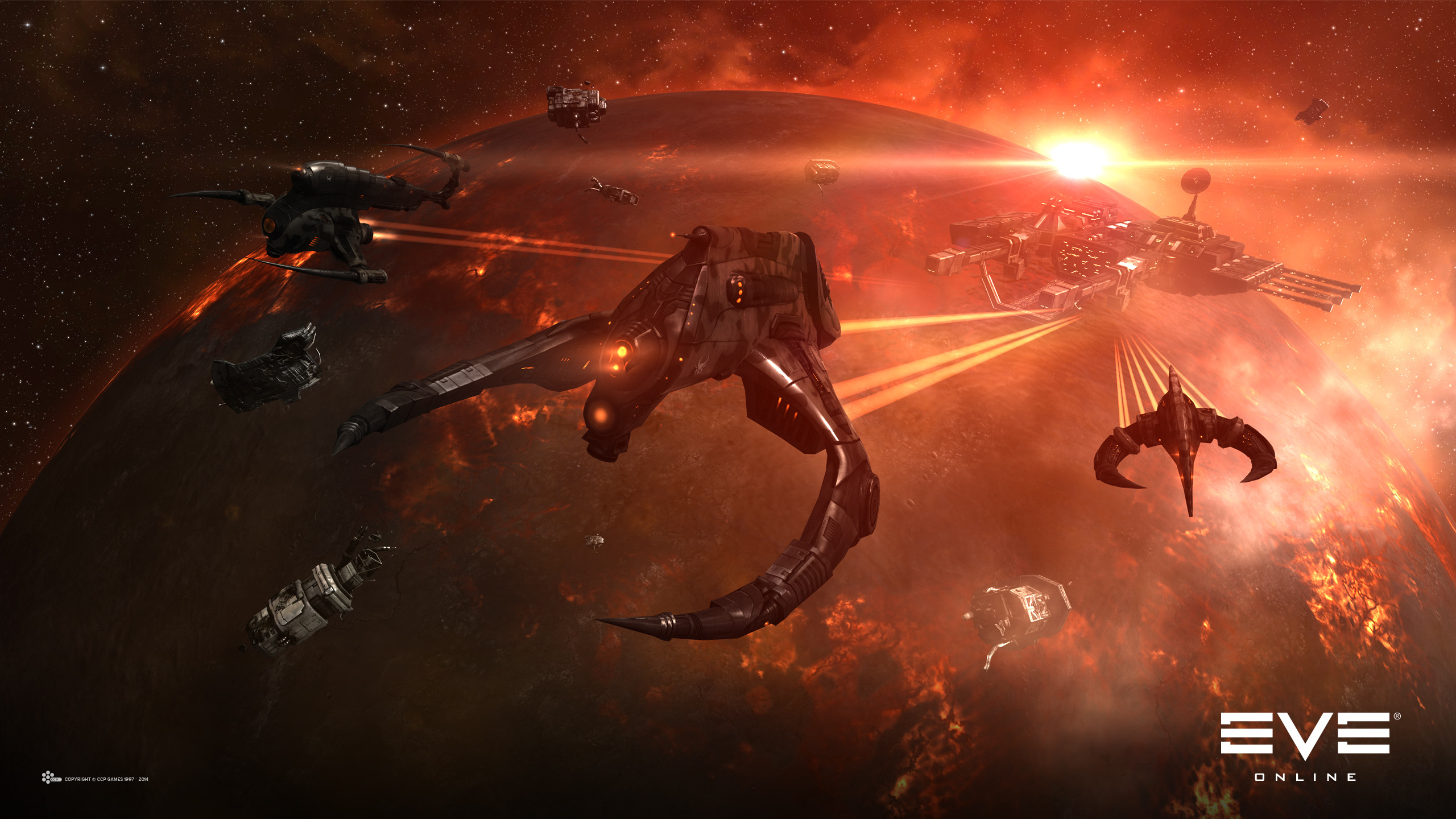 Eve Online Red Planet Desktop Background. Download …