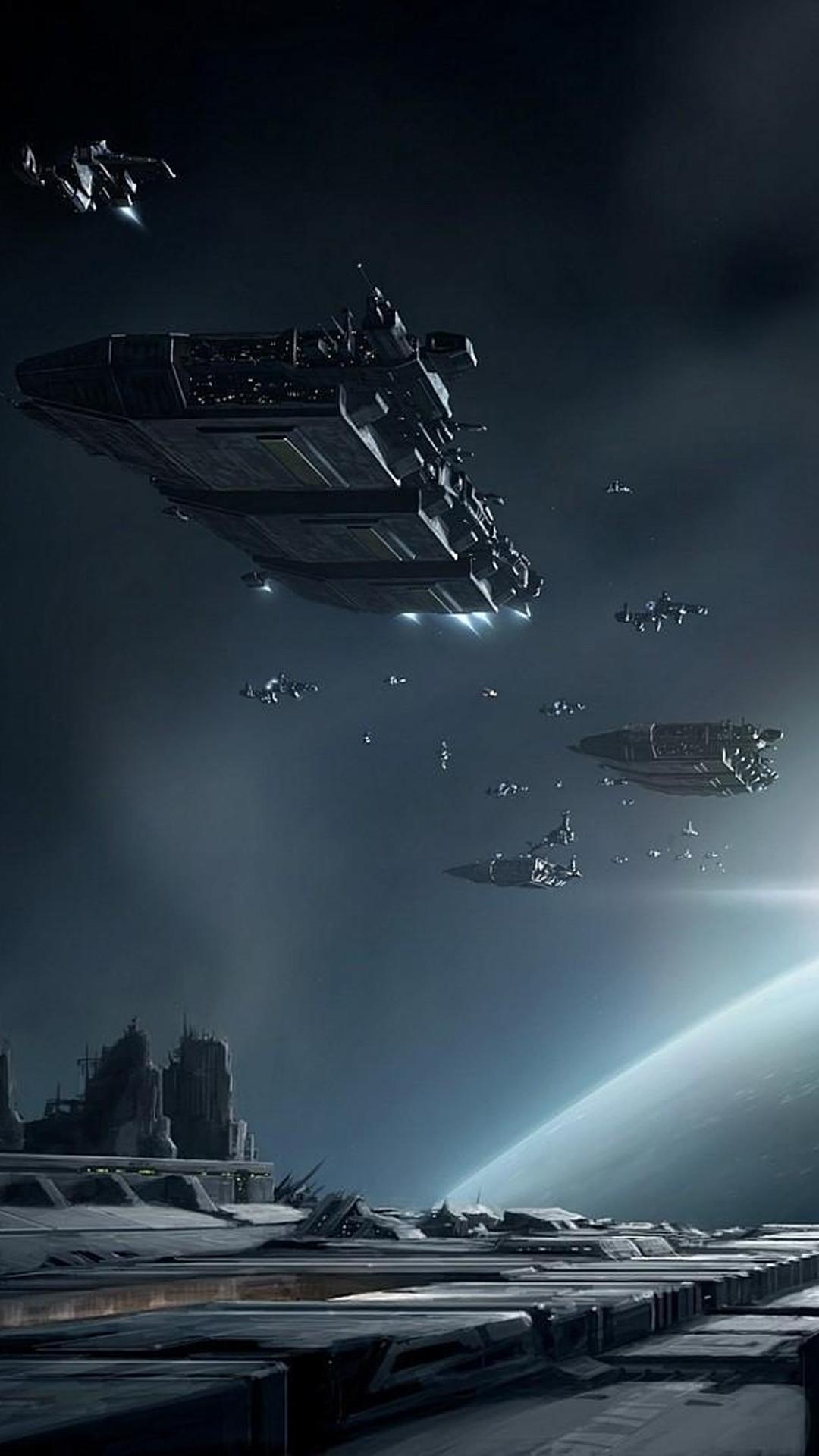 EVE Online Battle Ships iPhone 6+ HD Wallpaper …