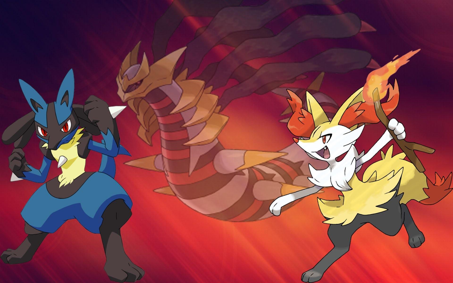 Pokemon Super Mystery Dungeon Giratina Battle