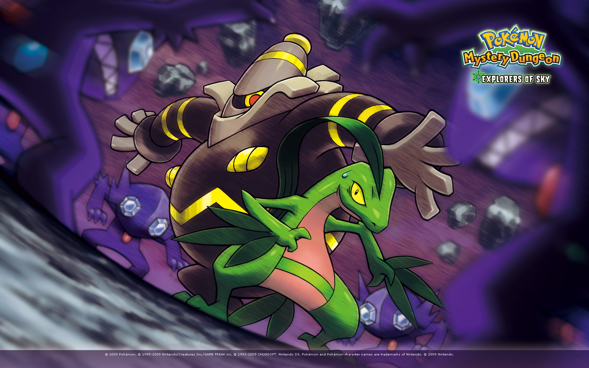 Pokemon Mystery Dungeon HD Cover