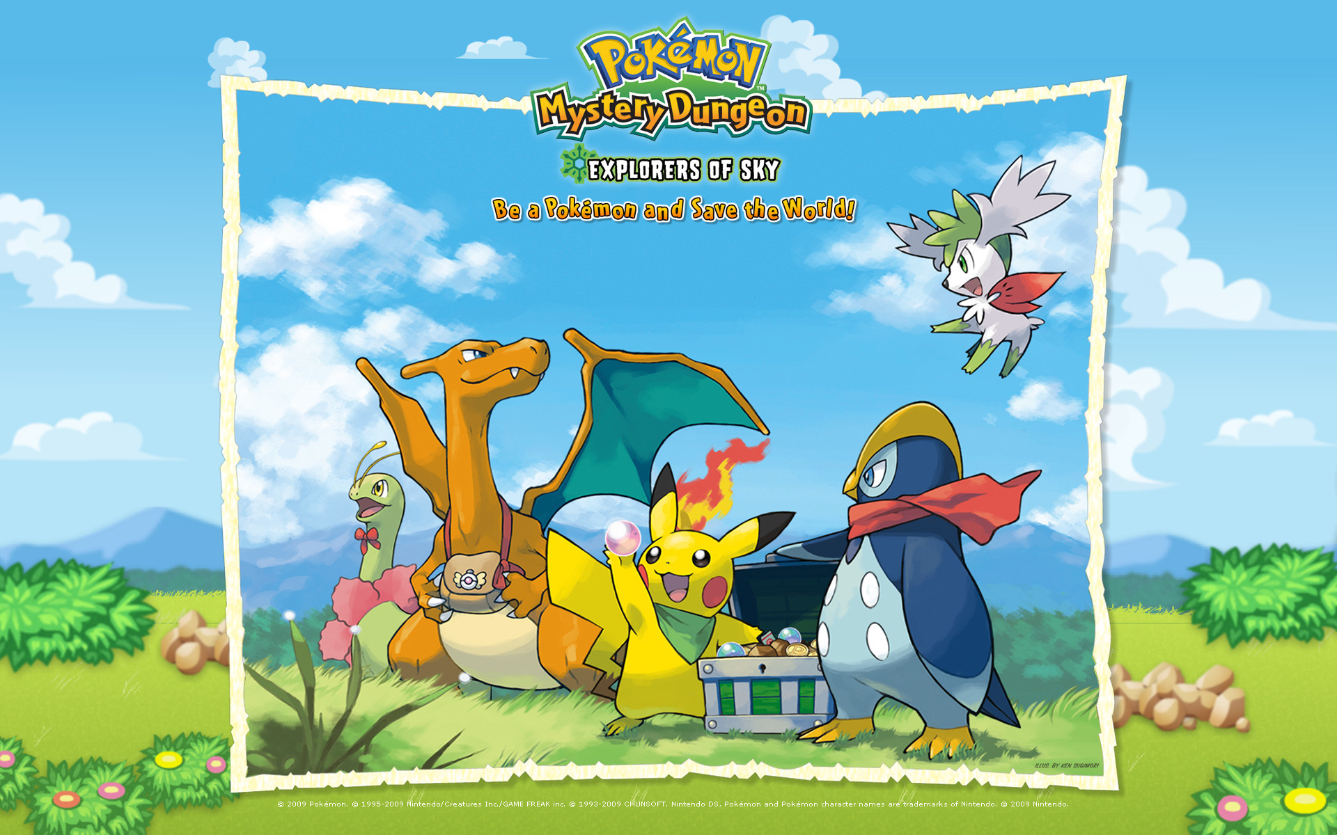 Pokemon Mystery Dungeon Cover Free Download by Eleonoora Franzettoini