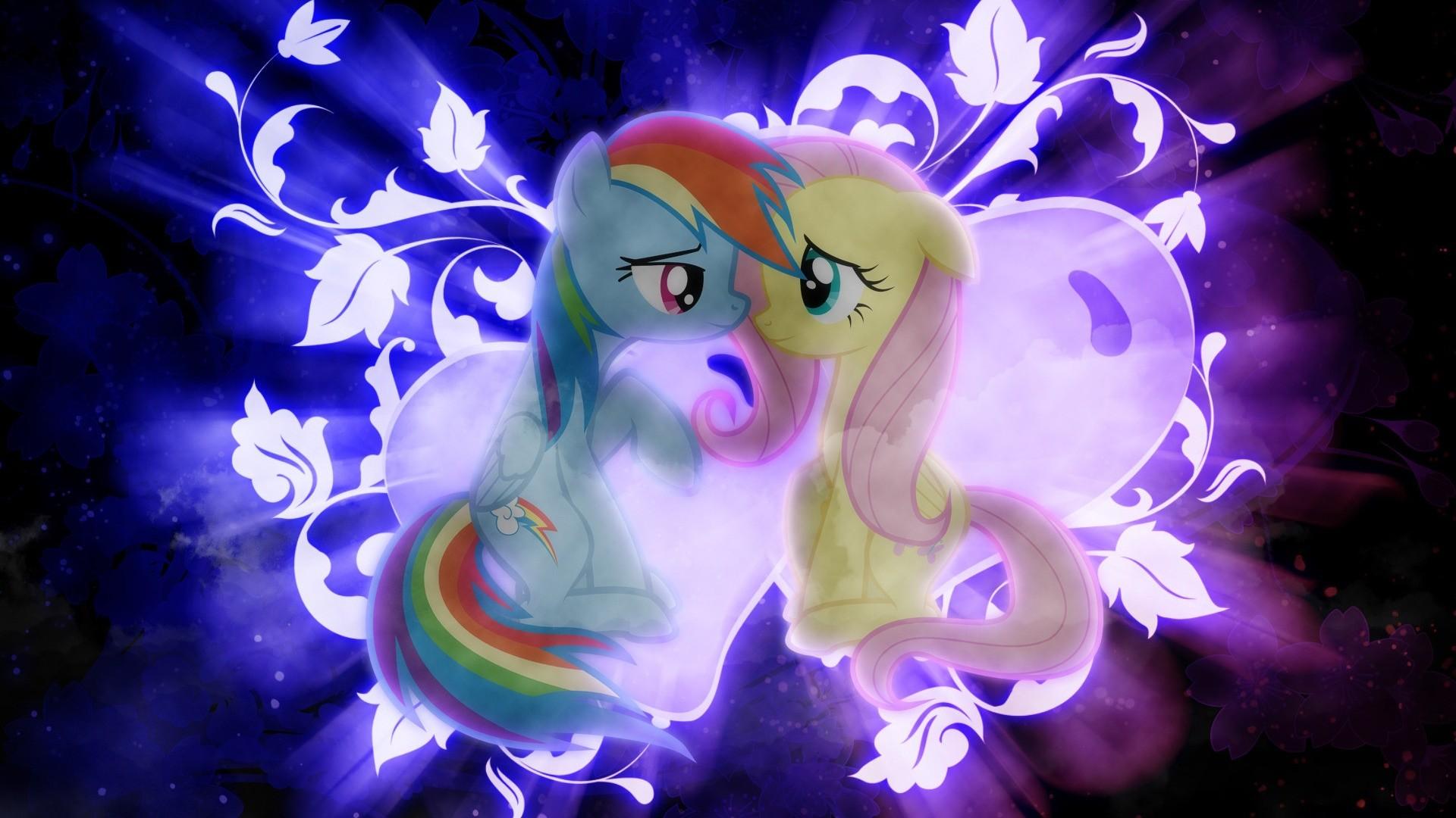 Rainbow Dash and Fluttershy shipping wallpaper.jpg