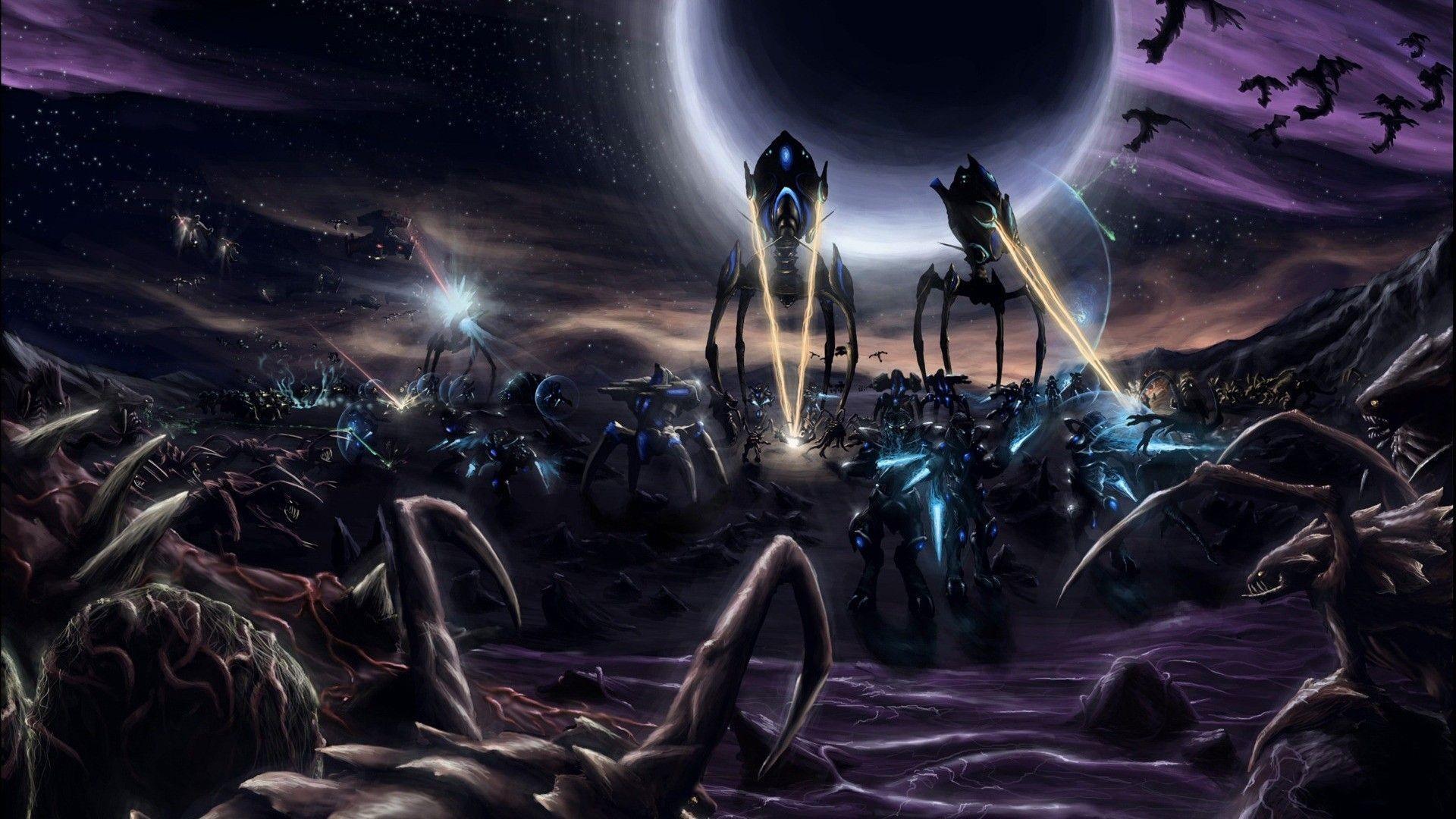180 Starcraft HD Wallpapers