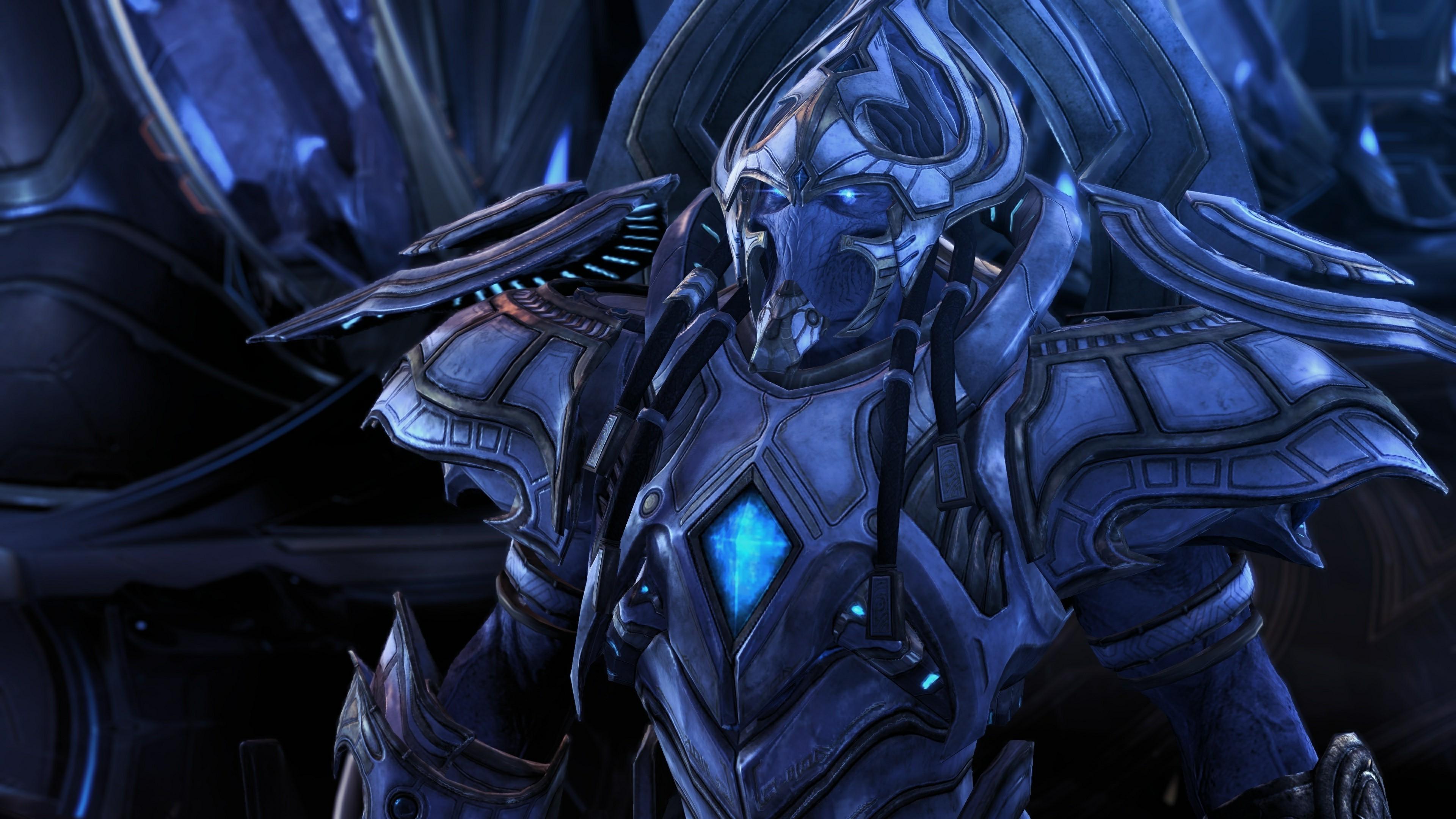 Starcraft II, Artanis, Protoss Wallpapers HD / Desktop and Mobile  Backgrounds