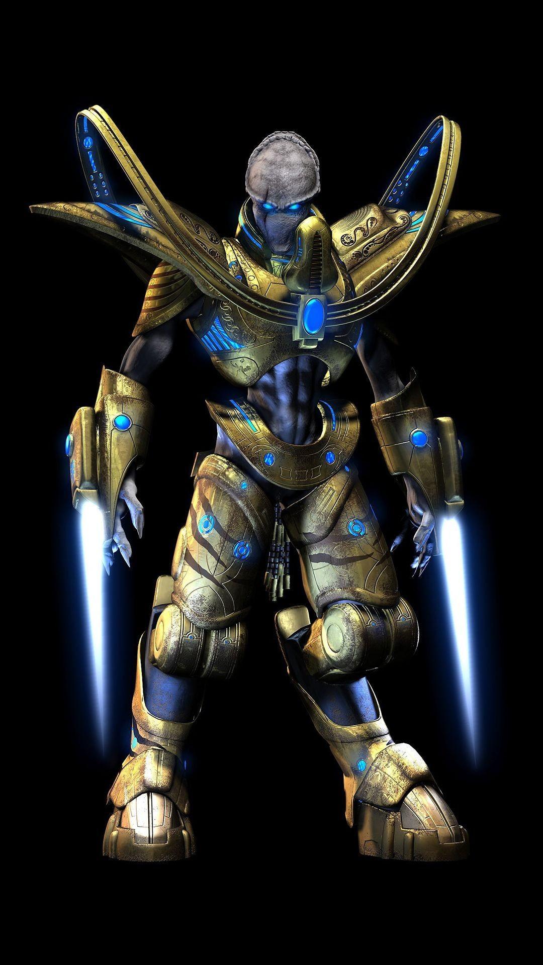 … Protoss – StarCraft Game mobile wallpaper