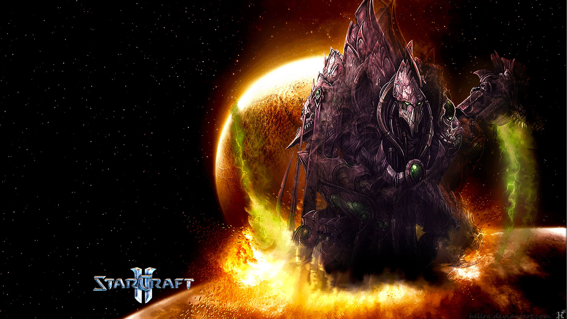 High Resolution Game Starcraft 2 Zerg Wallpapers HD 6 Full Size .