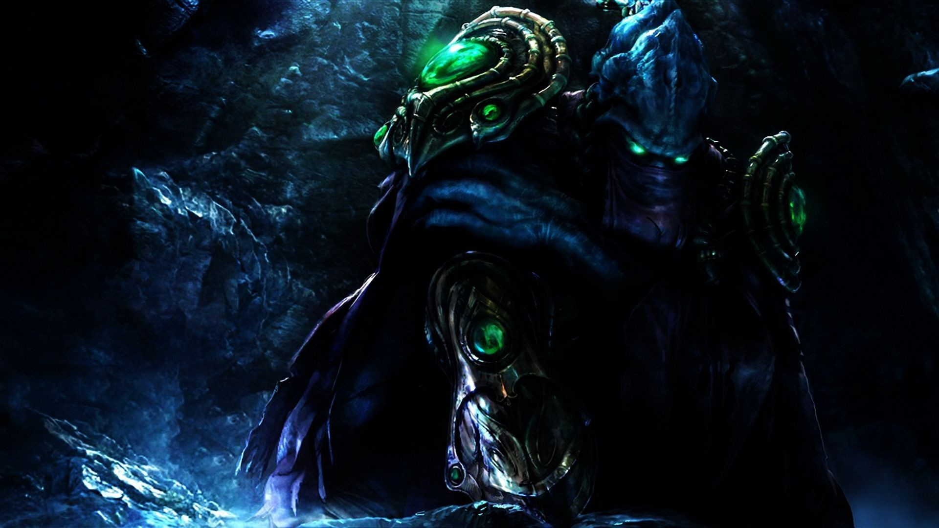 Starcraft 2, game, artwork, wings, HD Wallpaper and FREE .