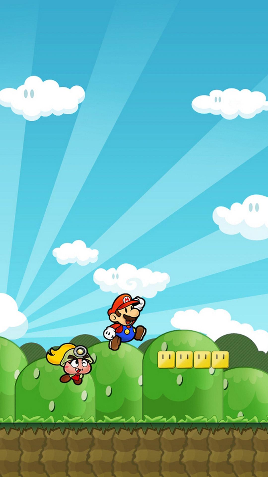 Mario Wallpaper for iphone 5