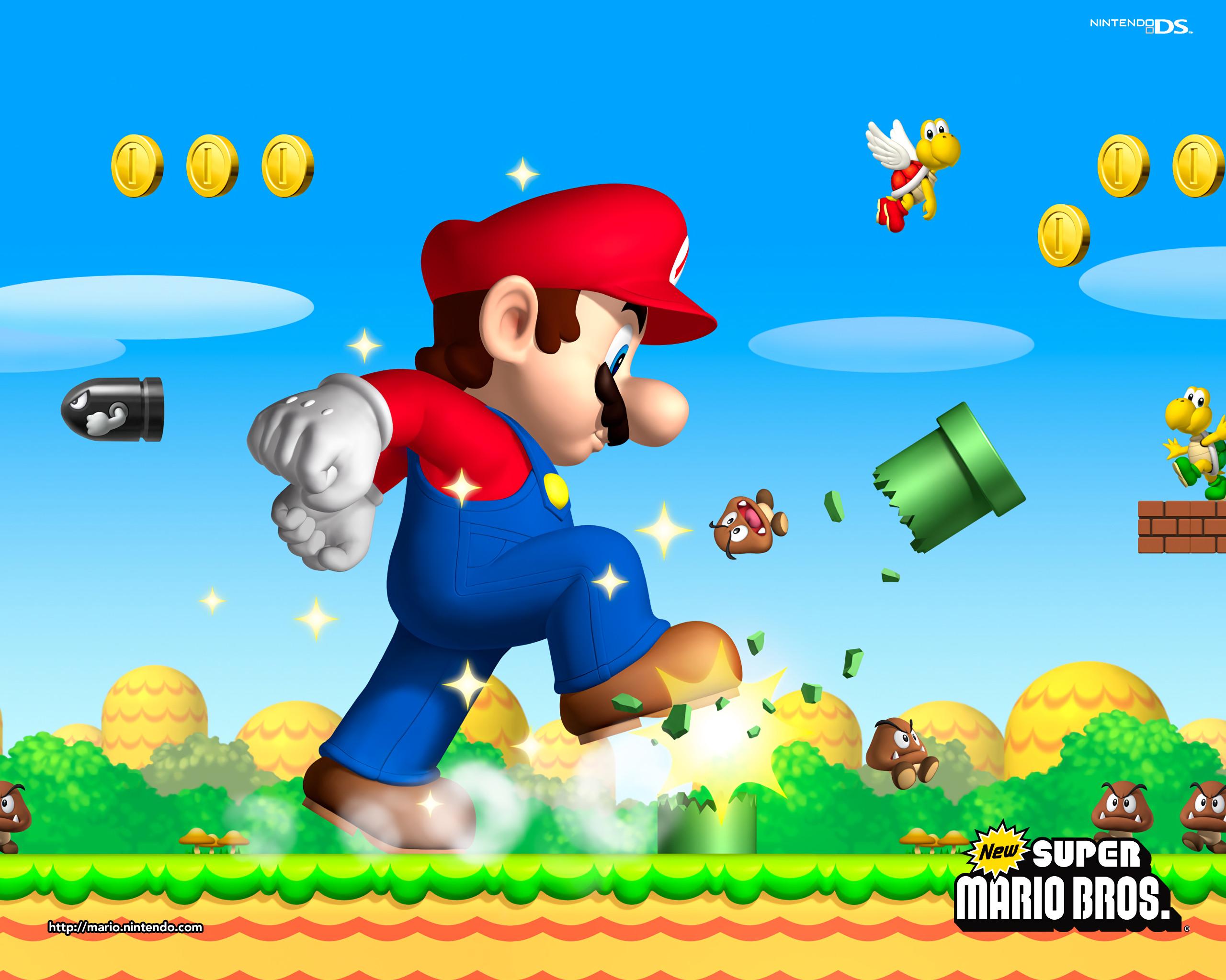 Video Game – Super Mario Bros. Mario Goomba Bill Ball Koopa Troopa Wallpaper