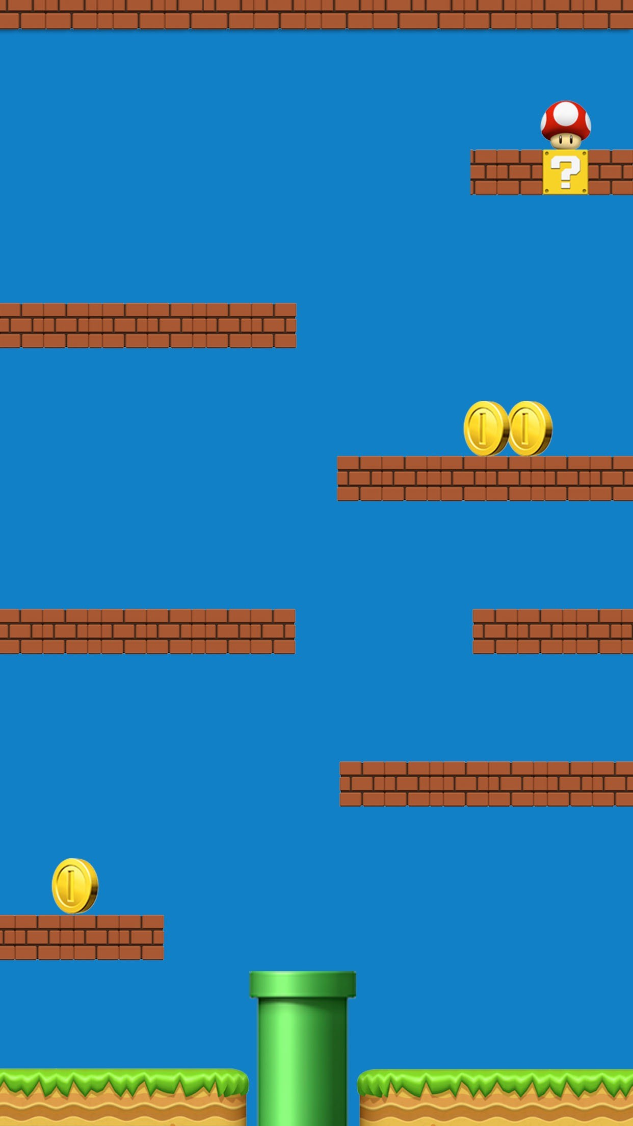 Shelves Super Mario Colorful Awesome Ð¡omputer Graphics. Iphone  BackgroundsWallpaper …
