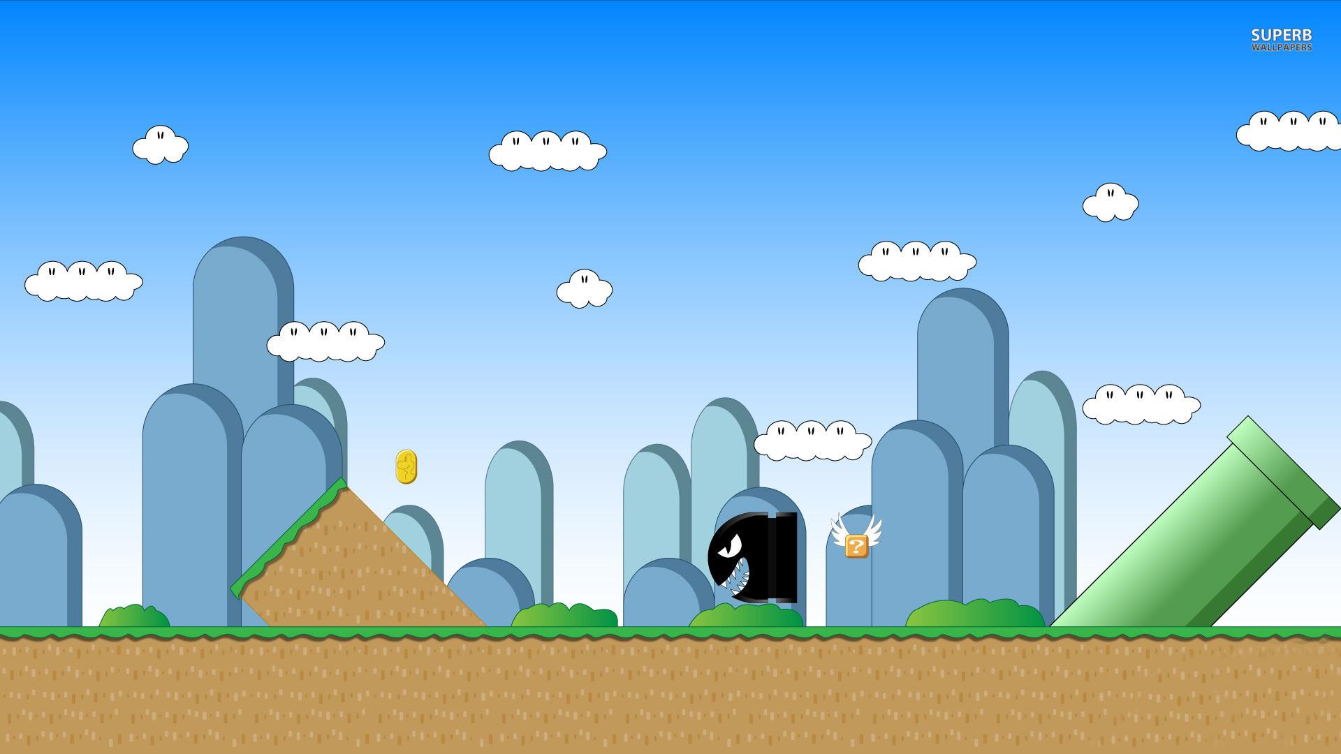 Super Mario HD Backgrounds | PixelsTalk.Net