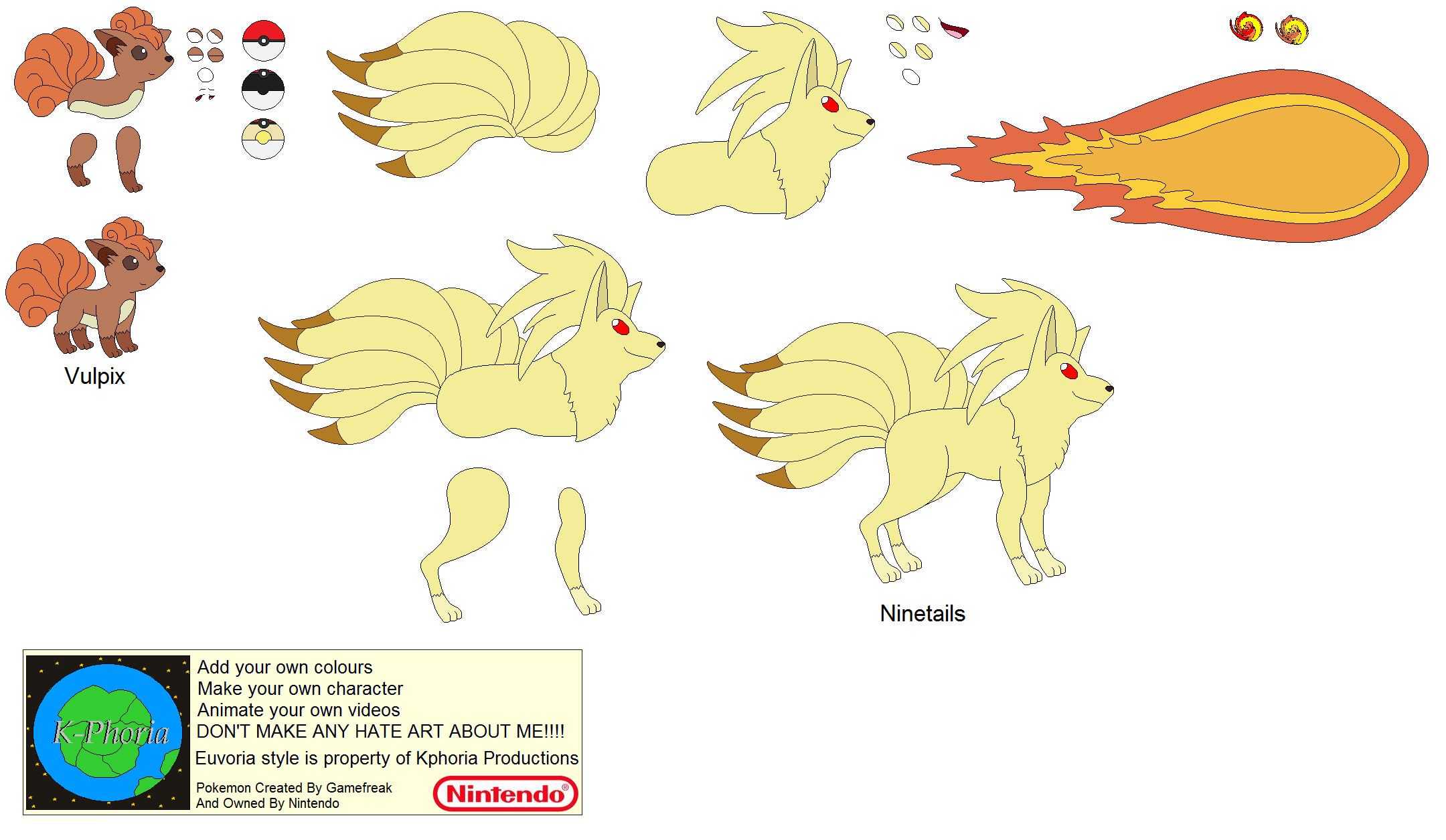 Vulpix Pokemon Evolution