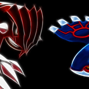 Groudon vs Kyogre