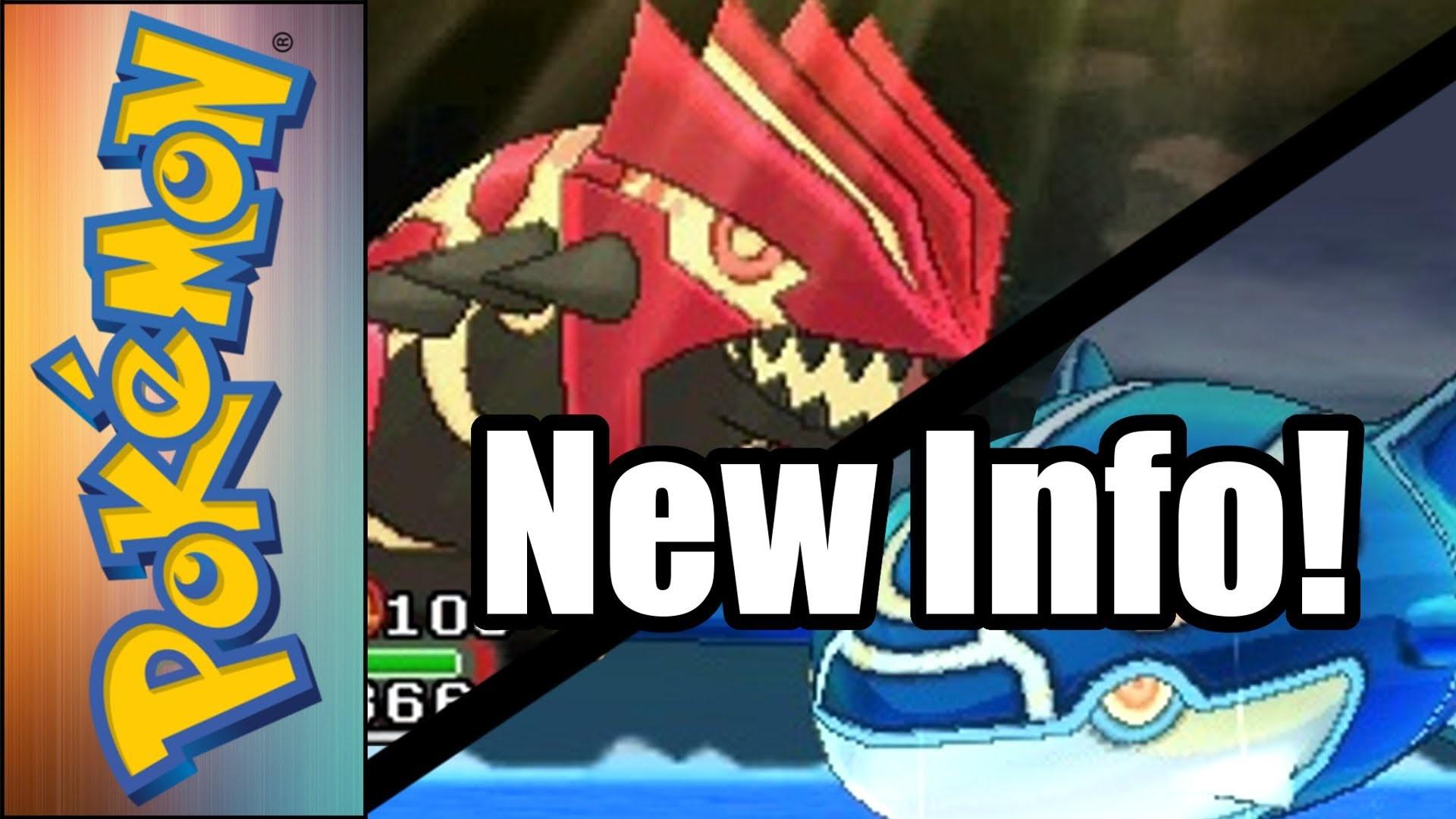 Pokemon Omega Ruby and Alpha Sapphire New Trailer Info!: Primal Groudon/ Kyogre; Mega Sableye/Diancie – YouTube