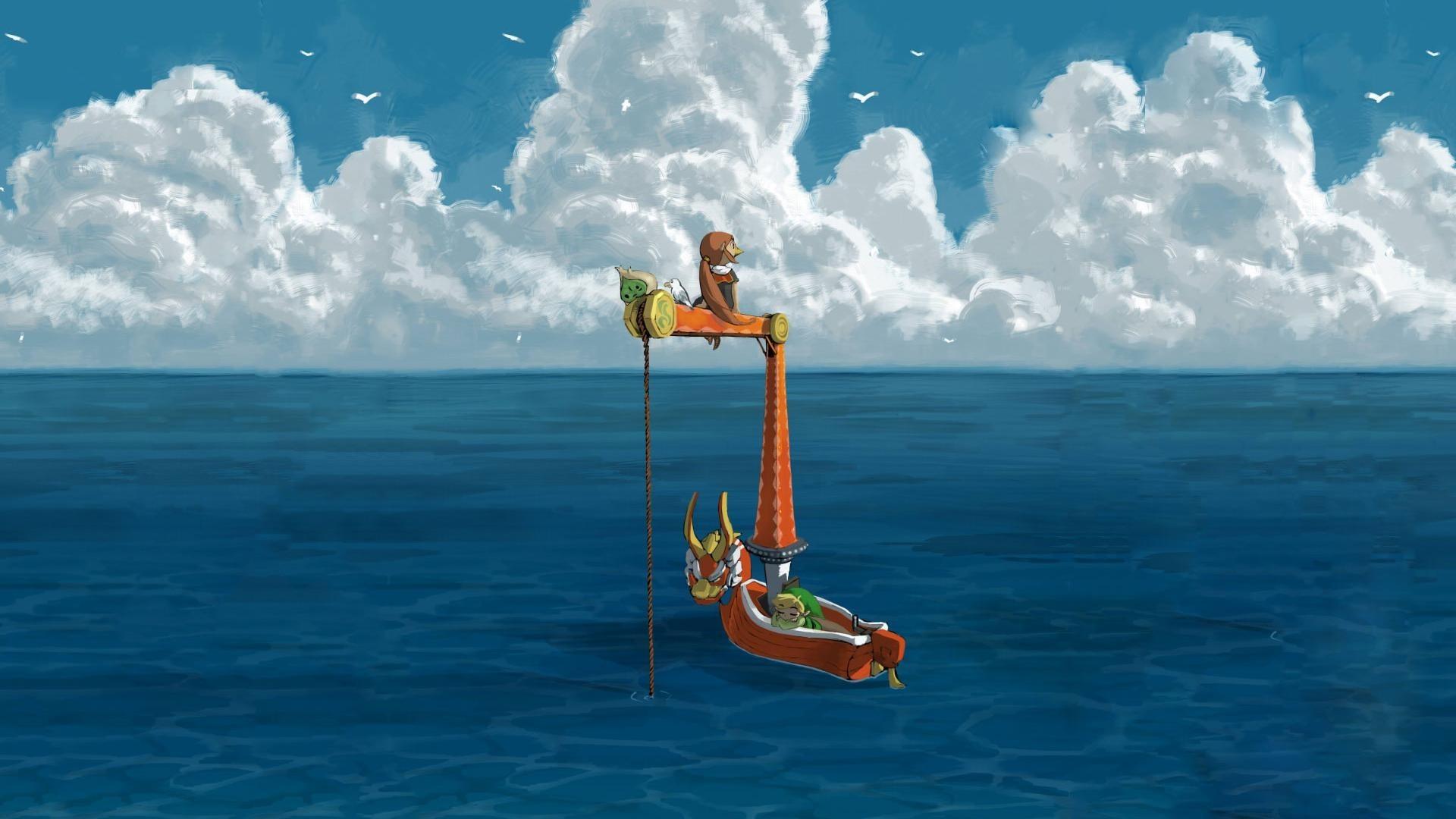 The Legend of Zelda, The Legend of Zelda: Wind Waker, Artwork, Video games Wallpapers  HD / Desktop and Mobile Backgrounds